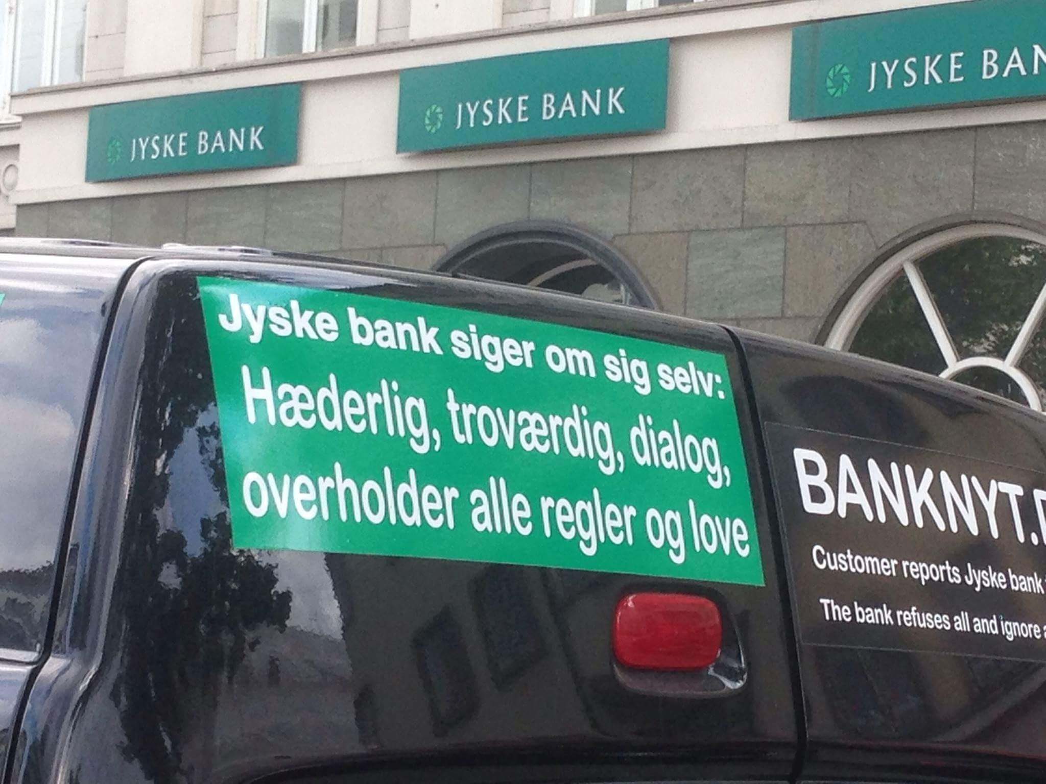 do not trust this bank they lie deceived - The case against the Danish bank Jyske Bank for gross fraud. Has evolved to act on bribery too, as has plaintiff's lawyer Lundgrens. Which is a large Danish lawyer's house, have received return commission, in the form of million assignments by the defendant Jyske Bank. So it looks bad for the confidence of the big Danish lawyer's houses as Lundgrens. / The question is now. Has Lundgren's lawyer partner company, in which the applicant's lawyer Dan Terkildsen is a partner, received a return commission lion from Jyske Bank. Have Lundgren's lawyers been given assignments by the defendant Jyske Bank. Against it as the Lundgren's lawyers, was hired to present to the court. / Lundgrens who is also the plaintiff's lawyer, so does not submit the plaintiff's fraud allegations against Jyske Bank. Jyske Bank who has now also hired the same lawyer to advise, Denmark's second largest bank Jyske bank, in a property sale for over half a billion Danish kroner. / That is a fact That after Lundgren's lawyers were employed by Jyske Bank. Have Lundgren's lawyers objected to the plaintiff's claims Jyske Bank for millions fraud, as a direct link between Jyske Bank paying Lundgren's lawyers millions in fees, for advice. / The case against the Danish fraud bank Jyske Bank is only growing. The plaintiff has yesterday, October 28, 2019. Even had to submit their fraud allegations against Jyske bank. / The plaintiff is now considering whether Lundgrens must testify. To confirm that their client has requested Lundgren's lawyers at least 30 times. About presenting the serious allegations against Jyske Bank for million fraud. And allegations against Jyske Bank Group Management With the bank's executive chairman CEO Anders Christian Dam / Then Lundgren's lawyers in court may have the opportunity to explain why Lundgrens has not presented the client's allegations against Jyske bank for fraudulent conduct. And why Lundgrens directly opposed the client's inst