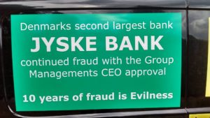 Please speak with us, Prove that we have borrowed 4,328,000 dkkr. in Nykredit bank Or start to admit and apologize for the fraud that dannich bank Jyske bank has exposed to us for 10 years