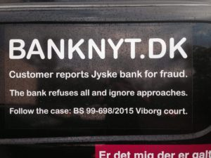 JYSKE BANKs SVINDEL / FRAUD - CALL / OPRÅB :-) Can the bank director CEO Anders Dam not understand We only want to talk with the bank, JYSKE BANK And find a solution, so we can get our life back We are talking about The last 10 years, the bank provisionally has deceived us. The Danish bank took 10 years from us. :-) Please talk to us #AndersChristianDam Rather than continue deceive us With a false interest rate swap, for a loan that has not never existed We write, and write, and write, while the bank continues the very deliberate fraud which the entire Group Board is aware of. :-) :-) A case that is so inflamed, that not even the Danish press does dare comment on it. do you think that there is something about what we are writing about. Would you ask the bank management Jyske Bank Link to the bank further down Why they will not answer their customer And deliver a copy of the loan, 4.328.000 DKK as the bank claiming the customer has borrowed i Nykredit As the Danish Bank changes interest rates, for the last 10 years, Actually since January 1, 2009 - Now the customer discovered and informed the Jyske Bank Jyske 3-bold Bank May 2016 that there was no loan taken. We are talking about fraud for millions, against just one customer :-) :-) Where do you come into contact with a fraudster who just does not want to stop deceiving you Have tried for over 2 years. DO YOU HAVE A SUGGESTION :-) from www.banknyt.dk Startede i jyske bank Helsingør I.L Tvedes Vej 7. 3000 Helsingør Dagblad Godt hjulpet af jyske bank medlemmer eller ansatte på Vesterbro, Vesterbrogade 9. Men godt assisteret af jyske bank hoved kontor i Silkeborg Vestergade Hvor koncern ledelsen / bestyrelsen ved Anders Christian Dam nu hjælper til med at dette svindel fortsætter Jyske Banks advokater som lyver for retten Tilbød 2-11-2016 forligs møde Men med den agenda at ville lave en rente bytte på et andet lån, for at sløre svindlen. ------------ Journalist Press just ask Danish Bank Jyske bank why the bank does not admit fraud And start to apologize all crimes. https://www.jyskebank.dk/kontakt/afdelingsinfo?departmentid=11660 :-) #Journalist #Press When the Danish banks deceive their customers a case of fraud in Danish banks against customers :-( :-( when the #danish #banks as #jyskebank are making fraud And the gang leader, controls the bank's fraud. :-( Anders Dam Bank's CEO refuses to quit. So it only shows how criminal the Danish jyske bank is. :-) Do not trust the #JyskeBank they are #lying constantly, when the bank cheats you The fraud that is #organized through by 3 departments, and many members of the organization JYSKE BANK :-( The Danish bank jyske bank is a criminal offense, Follow the case in Danish law BS 99-698/2015 :-) :-) Thanks to all of you we meet on the road. Which gives us your full support to the fight against the Danish fraud bank. JYSKE BANK :-) :-) Please ask the bank, jyske bank if we have raised a loan of DKK 4.328.000 In Danish bank nykredit. as the bank writes to their customer who is ill after a brain bleeding - As the bank is facing Danish courts and claim is a loan behind the interest rate swap The swsp Jyske Bank itself made 16-07-2008 https://facebook.com/JyskeBank.dk/photos/a.1468232419878888.1073741869.1045397795495688/1468234663211997/?type=3&source=54&ref=page_internal :-( contact the bank here https://www.jyskebank.dk/omjyskebank/organisation/koncernledergruppe - Also ask about date and evidence that the loan offer has been withdrawn in due time before expiry :-) :-) And ask for the prompt contact to Nykredit Denmark And ask why (new credit bank) Nykredit, first would answer the question, after nykredit received a subpoena, to speak true. - Even at a meeting Nykredit refused to sign anything. Not to provide evidence against Jyske Bank for fraud - But after several letters admit Nykredit Bank on writing - There is no loan of 4.328.000 kr https://facebook.com/JyskeBank.dk/photos/a.1051107938258007.1073741840.1045397795495688/1344678722234259/?type=3&source=54&ref=page_internal :-( :-( So nothing to change interest rates https://facebook.com/JyskeBank.dk/photos/a.1045554925479975.1073741831.1045397795495688/1045554998813301/?type=3&source=54&ref=page_internal Thus admit Nykredit Bank that their friends in Jyske Bank are making fraud against Danish customers :-( :-( :-( Today June 29th claims Jyske Bank that a loan of DKK 4.328.000 Has been reduced to DKK 2.927.634 and raised interest rates DKK 81.182 https://facebook.com/JyskeBank.dk/photos/a.1046306905404777.1073741835.1045397795495688/1755579747810819/?type=3&source=54 :-) :-) Group management jyske bank know, at least since May 2016 There is no loan of 4.328.000 DKK And that has never existed. And the ceo is conscious about the fraud against the bank's customer :-) Nevertheless, the bank continues the fraud But now with the Group's Board of Directors knowledge and approval :-) The bank will not respond to anything Do you want to investigate the fraud case as a journalist? :-( :-( Fraud that the bank jyske bank has committed, over the past 10 years. :-) :-) https://facebook.com/story.php?story_fbid=10217380674608165&id=1213101334&ref=bookmarks Will make it better, when we share timeline, with link to Appendix :-) www.banknyt.dk /-----------/ #ANDERSDAM I SPIDSEN AF DEN STORE DANSKE NOK SMÅ #KRIMINELLE #BANK #JYSKEBANK Godt hjulpet af #Les www.les.dk #LundElmerSandager #Advokater :-) #JYSKE BANK BLEV OPDAGET / TAGET I AT LAVE #MANDATSVIG #BEDRAGERI #DOKUMENTFALSK #UDNYTTELSE #SVIG #FALSK :-) Banken skriver i fundamentet at jyskebank er #TROVÆRDIG #HÆDERLIG #ÆRLIG DET ER DET VI SKAL OPKLARE I DENNE HER SAG. :-) Offer spørger flere gange om jyske bank har nogle kommentar eller rettelser til www.banknyt.dk og opslag Jyske bank svare slet ikke :-) :-) We are still talking about 10 years of fraud Follow the case in Danish court Denmark Viborg BS 99-698/2015 :-) :-) Link to the bank's management jyske bank ask them please If we have borrowed DKK 4.328.000 as offered on May 20, 2008 in Nykredit The bank still take interest on this alleged loan in the 10th year. and refuses to answer anything :-) :-) Funny enough for all that loan is not existing just ask jyske bank why the bank does not admit fraud And start to apologize all crimes. https://www.jyskebank.dk/kontakt/afdelingsinfo?departmentid=11660 #Bank #AnderChristianDam #Financial #News #Press #Share #Pol #Recommendation #Sale #Firesale #AndersDam #JyskeBank #ATP #PFA #MortenUlrikGade #PhilipBaruch #LES #GF #BirgitBushThuesen #LundElmerSandager #Nykredit #MetteEgholmNielsen #Loan #Fraud #CasperDamOlsen #NicolaiHansen #gangcrimes #crimes :-) just ask jyske bank why the bank does not admit fraud And start to apologize all crimes. https://www.jyskebank.dk/kontakt/afdelingsinfo?departmentid=11660 #Koncernledelse #jyskebank #Koncernbestyrelsen #SvenBuhrkall #KurtBligaardPedersen #RinaAsmussen #PhilipBaruch #JensABorup #KeldNorup #ChristinaLykkeMunk #HaggaiKunisch #MarianneLillevang #Koncerndirektionen #AndersDam #LeifFLarsen #NielsErikJakobsen #PerSkovhus #PeterSchleidt / IMG_0736