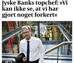 JYSKE BANKs SVINDEL / FRAUD - CALL / OPRÅB :-) Can the bank director CEO Anders Dam not understand We only want to talk with the bank, JYSKE BANK And find a solution, so we can get our life back We are talking about The last 10 years, the bank provisionally has deceived us. The Danish bank took 10 years from us. :-) Please talk to us #AndersChristianDam Rather than continue deceive us With a false interest rate swap, for a loan that has not never existed We write, and write, and write, while the bank continues the very deliberate fraud which the entire Group Board is aware of. :-) :-) A case that is so inflamed, that not even the Danish press does dare comment on it. do you think that there is something about what we are writing about. Would you ask the bank management Jyske Bank Link to the bank further down Why they will not answer their customer And deliver a copy of the loan, 4.328.000 DKK as the bank claiming the customer has borrowed i Nykredit As the Danish Bank changes interest rates, for the last 10 years, Actually since January 1, 2009 - Now the customer discovered and informed the Jyske Bank Jyske 3-bold Bank May 2016 that there was no loan taken. We are talking about fraud for millions, against just one customer :-) :-) Where do you come into contact with a fraudster who just does not want to stop deceiving you Have tried for over 2 years. DO YOU HAVE A SUGGESTION :-) from www.banknyt.dk Startede i jyske bank Helsingør I.L Tvedes Vej 7. 3000 Helsingør Dagblad Godt hjulpet af jyske bank medlemmer eller ansatte på Vesterbro, Vesterbrogade 9. Men godt assisteret af jyske bank hoved kontor i Silkeborg Vestergade Hvor koncern ledelsen / bestyrelsen ved Anders Christian Dam nu hjælper til med at dette svindel fortsætter Jyske Banks advokater som lyver for retten Tilbød 2-11-2016 forligs møde Men med den agenda at ville lave en rente bytte på et andet lån, for at sløre svindlen. ------------ Journalist Press just ask Danish Bank Jyske bank why the bank does not admit fraud And start to apologize all crimes. https://www.jyskebank.dk/kontakt/afdelingsinfo?departmentid=11660 :-) #Journalist #Press When the Danish banks deceive their customers a case of fraud in Danish banks against customers :-( :-( when the #danish #banks as #jyskebank are making fraud And the gang leader, controls the bank's fraud. :-( Anders Dam Bank's CEO refuses to quit. So it only shows how criminal the Danish jyske bank is. :-) Do not trust the #JyskeBank they are #lying constantly, when the bank cheats you The fraud that is #organized through by 3 departments, and many members of the organization JYSKE BANK :-( The Danish bank jyske bank is a criminal offense, Follow the case in Danish law BS 99-698/2015 :-) :-) Thanks to all of you we meet on the road. Which gives us your full support to the fight against the Danish fraud bank. JYSKE BANK :-) :-) Please ask the bank, jyske bank if we have raised a loan of DKK 4.328.000 In Danish bank nykredit. as the bank writes to their customer who is ill after a brain bleeding - As the bank is facing Danish courts and claim is a loan behind the interest rate swap The swsp Jyske Bank itself made 16-07-2008 https://facebook.com/JyskeBank.dk/photos/a.1468232419878888.1073741869.1045397795495688/1468234663211997/?type=3&source=54&ref=page_internal :-( contact the bank here https://www.jyskebank.dk/omjyskebank/organisation/koncernledergruppe - Also ask about date and evidence that the loan offer has been withdrawn in due time before expiry :-) :-) And ask for the prompt contact to Nykredit Denmark And ask why (new credit bank) Nykredit, first would answer the question, after nykredit received a subpoena, to speak true. - Even at a meeting Nykredit refused to sign anything. Not to provide evidence against Jyske Bank for fraud - But after several letters admit Nykredit Bank on writing - There is no loan of 4.328.000 kr https://facebook.com/JyskeBank.dk/photos/a.1051107938258007.1073741840.1045397795495688/1344678722234259/?type=3&source=54&ref=page_internal :-( :-( So nothing to change interest rates https://facebook.com/JyskeBank.dk/photos/a.1045554925479975.1073741831.1045397795495688/1045554998813301/?type=3&source=54&ref=page_internal Thus admit Nykredit Bank that their friends in Jyske Bank are making fraud against Danish customers :-( :-( :-( Today June 29th claims Jyske Bank that a loan of DKK 4.328.000 Has been reduced to DKK 2.927.634 and raised interest rates DKK 81.182 https://facebook.com/JyskeBank.dk/photos/a.1046306905404777.1073741835.1045397795495688/1755579747810819/?type=3&source=54 :-) :-) Group management jyske bank know, at least since May 2016 There is no loan of 4.328.000 DKK And that has never existed. And the ceo is conscious about the fraud against the bank's customer :-) Nevertheless, the bank continues the fraud But now with the Group's Board of Directors knowledge and approval :-) The bank will not respond to anything Do you want to investigate the fraud case as a journalist? :-( :-( Fraud that the bank jyske bank has committed, over the past 10 years. :-) :-) https://facebook.com/story.php?story_fbid=10217380674608165&id=1213101334&ref=bookmarks Will make it better, when we share timeline, with link to Appendix :-) www.banknyt.dk /-----------/ #ANDERSDAM I SPIDSEN AF DEN STORE DANSKE NOK SMÅ #KRIMINELLE #BANK #JYSKEBANK Godt hjulpet af #Les www.les.dk #LundElmerSandager #Advokater :-) #JYSKE BANK BLEV OPDAGET / TAGET I AT LAVE #MANDATSVIG #BEDRAGERI #DOKUMENTFALSK #UDNYTTELSE #SVIG #FALSK :-) Banken skriver i fundamentet at jyskebank er #TROVÆRDIG #HÆDERLIG #ÆRLIG DET ER DET VI SKAL OPKLARE I DENNE HER SAG. :-) Offer spørger flere gange om jyske bank har nogle kommentar eller rettelser til www.banknyt.dk og opslag Jyske bank svare slet ikke :-) :-) We are still talking about 10 years of fraud Follow the case in Danish court Denmark Viborg BS 99-698/2015 :-) :-) Link to the bank's management jyske bank ask them please If we have borrowed DKK 4.328.000 as offered on May 20, 2008 in Nykredit The bank still take interest on this alleged loan in the 10th year. and refuses to answer anything :-) :-) Funny enough for all that loan is not existing just ask jyske bank why the bank does not admit fraud And start to apologize all crimes. https://www.jyskebank.dk/kontakt/afdelingsinfo?departmentid=11660 #Bank #AnderChristianDam #Financial #News #Press #Share #Pol #Recommendation #Sale #Firesale #AndersDam #JyskeBank #ATP #PFA #MortenUlrikGade #PhilipBaruch #LES #GF #BirgitBushThuesen #LundElmerSandager #Nykredit #MetteEgholmNielsen #Loan #Fraud #CasperDamOlsen #NicolaiHansen #gangcrimes #crimes :-) just ask jyske bank why the bank does not admit fraud And start to apologize all crimes. https://www.jyskebank.dk/kontakt/afdelingsinfo?departmentid=11660 #Koncernledelse #jyskebank #Koncernbestyrelsen #SvenBuhrkall #KurtBligaardPedersen #RinaAsmussen #PhilipBaruch #JensABorup #KeldNorup #ChristinaLykkeMunk #HaggaiKunisch #MarianneLillevang #Koncerndirektionen #AndersDam #LeifFLarsen #NielsErikJakobsen #PerSkovhus #PeterSchleidt / IMG_1018