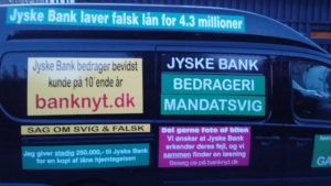 JYSKE BANKs SVINDEL / FRAUD - CALL / OPRÅB :-) Can the bank director CEO Anders Dam not understand We only want to talk with the bank, JYSKE BANK And find a solution, so we can get our life back We are talking about The last 10 years, the bank provisionally has deceived us. The Danish bank took 10 years from us. :-) Please talk to us #AndersChristianDam Rather than continue deceive us With a false interest rate swap, for a loan that has not never existed We write, and write, and write, while the bank continues the very deliberate fraud which the entire Group Board is aware of. :-) :-) A case that is so inflamed, that not even the Danish press does dare comment on it. do you think that there is something about what we are writing about. Would you ask the bank management Jyske Bank Link to the bank further down Why they will not answer their customer And deliver a copy of the loan, 4.328.000 DKK as the bank claiming the customer has borrowed i Nykredit As the Danish Bank changes interest rates, for the last 10 years, Actually since January 1, 2009 - Now the customer discovered and informed the Jyske Bank Jyske 3-bold Bank May 2016 that there was no loan taken. We are talking about fraud for millions, against just one customer :-) :-) Where do you come into contact with a fraudster who just does not want to stop deceiving you Have tried for over 2 years. DO YOU HAVE A SUGGESTION :-) from www.banknyt.dk Startede i jyske bank Helsingør I.L Tvedes Vej 7. 3000 Helsingør Dagblad Godt hjulpet af jyske bank medlemmer eller ansatte på Vesterbro, Vesterbrogade 9. Men godt assisteret af jyske bank hoved kontor i Silkeborg Vestergade Hvor koncern ledelsen / bestyrelsen ved Anders Christian Dam nu hjælper til med at dette svindel fortsætter Jyske Banks advokater som lyver for retten Tilbød 2-11-2016 forligs møde Men med den agenda at ville lave en rente bytte på et andet lån, for at sløre svindlen. ------------ Journalist Press just ask Danish Bank Jyske bank why the bank does not admit fraud And start to apologize all crimes. https://www.jyskebank.dk/kontakt/afdelingsinfo?departmentid=11660 :-) #Journalist #Press When the Danish banks deceive their customers a case of fraud in Danish banks against customers :-( :-( when the #danish #banks as #jyskebank are making fraud And the gang leader, controls the bank's fraud. :-( Anders Dam Bank's CEO refuses to quit. So it only shows how criminal the Danish jyske bank is. :-) Do not trust the #JyskeBank they are #lying constantly, when the bank cheats you The fraud that is #organized through by 3 departments, and many members of the organization JYSKE BANK :-( The Danish bank jyske bank is a criminal offense, Follow the case in Danish law BS 99-698/2015 :-) :-) Thanks to all of you we meet on the road. Which gives us your full support to the fight against the Danish fraud bank. JYSKE BANK :-) :-) Please ask the bank, jyske bank if we have raised a loan of DKK 4.328.000 In Danish bank nykredit. as the bank writes to their customer who is ill after a brain bleeding - As the bank is facing Danish courts and claim is a loan behind the interest rate swap The swsp Jyske Bank itself made 16-07-2008 https://facebook.com/JyskeBank.dk/photos/a.1468232419878888.1073741869.1045397795495688/1468234663211997/?type=3&source=54&ref=page_internal :-( contact the bank here https://www.jyskebank.dk/omjyskebank/organisation/koncernledergruppe - Also ask about date and evidence that the loan offer has been withdrawn in due time before expiry :-) :-) And ask for the prompt contact to Nykredit Denmark And ask why (new credit bank) Nykredit, first would answer the question, after nykredit received a subpoena, to speak true. - Even at a meeting Nykredit refused to sign anything. Not to provide evidence against Jyske Bank for fraud - But after several letters admit Nykredit Bank on writing - There is no loan of 4.328.000 kr https://facebook.com/JyskeBank.dk/photos/a.1051107938258007.1073741840.1045397795495688/1344678722234259/?type=3&source=54&ref=page_internal :-( :-( So nothing to change interest rates https://facebook.com/JyskeBank.dk/photos/a.1045554925479975.1073741831.1045397795495688/1045554998813301/?type=3&source=54&ref=page_internal Thus admit Nykredit Bank that their friends in Jyske Bank are making fraud against Danish customers :-( :-( :-( Today June 29th claims Jyske Bank that a loan of DKK 4.328.000 Has been reduced to DKK 2.927.634 and raised interest rates DKK 81.182 https://facebook.com/JyskeBank.dk/photos/a.1046306905404777.1073741835.1045397795495688/1755579747810819/?type=3&source=54 :-) :-) Group management jyske bank know, at least since May 2016 There is no loan of 4.328.000 DKK And that has never existed. And the ceo is conscious about the fraud against the bank's customer :-) Nevertheless, the bank continues the fraud But now with the Group's Board of Directors knowledge and approval :-) The bank will not respond to anything Do you want to investigate the fraud case as a journalist? :-( :-( Fraud that the bank jyske bank has committed, over the past 10 years. :-) :-) https://facebook.com/story.php?story_fbid=10217380674608165&id=1213101334&ref=bookmarks Will make it better, when we share timeline, with link to Appendix :-) www.banknyt.dk /-----------/ #ANDERSDAM I SPIDSEN AF DEN STORE DANSKE NOK SMÅ #KRIMINELLE #BANK #JYSKEBANK Godt hjulpet af #Les www.les.dk #LundElmerSandager #Advokater :-) #JYSKE BANK BLEV OPDAGET / TAGET I AT LAVE #MANDATSVIG #BEDRAGERI #DOKUMENTFALSK #UDNYTTELSE #SVIG #FALSK :-) Banken skriver i fundamentet at jyskebank er #TROVÆRDIG #HÆDERLIG #ÆRLIG DET ER DET VI SKAL OPKLARE I DENNE HER SAG. :-) Offer spørger flere gange om jyske bank har nogle kommentar eller rettelser til www.banknyt.dk og opslag Jyske bank svare slet ikke :-) :-) We are still talking about 10 years of fraud Follow the case in Danish court Denmark Viborg BS 99-698/2015 :-) :-) Link to the bank's management jyske bank ask them please If we have borrowed DKK 4.328.000 as offered on May 20, 2008 in Nykredit The bank still take interest on this alleged loan in the 10th year. and refuses to answer anything :-) :-) Funny enough for all that loan is not existing just ask jyske bank why the bank does not admit fraud And start to apologize all crimes. https://www.jyskebank.dk/kontakt/afdelingsinfo?departmentid=11660 #Bank #AnderChristianDam #Financial #News #Press #Share #Pol #Recommendation #Sale #Firesale #AndersDam #JyskeBank #ATP #PFA #MortenUlrikGade #PhilipBaruch #LES #GF #BirgitBushThuesen #LundElmerSandager #Nykredit #MetteEgholmNielsen #Loan #Fraud #CasperDamOlsen #NicolaiHansen #gangcrimes #crimes :-) just ask jyske bank why the bank does not admit fraud And start to apologize all crimes. https://www.jyskebank.dk/kontakt/afdelingsinfo?departmentid=11660 #Koncernledelse #jyskebank #Koncernbestyrelsen #SvenBuhrkall #KurtBligaardPedersen #RinaAsmussen #PhilipBaruch #JensABorup #KeldNorup #ChristinaLykkeMunk #HaggaiKunisch #MarianneLillevang #Koncerndirektionen #AndersDam #LeifFLarsen #NielsErikJakobsen #PerSkovhus #PeterSchleidt / IMG_20180602_220312480