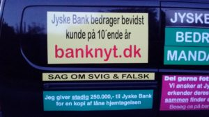 JYSKE BANKs SVINDEL / FRAUD - CALL / OPRÅB :-) Can the bank director CEO Anders Dam not understand We only want to talk with the bank, JYSKE BANK And find a solution, so we can get our life back We are talking about The last 10 years, the bank provisionally has deceived us. The Danish bank took 10 years from us. :-) Please talk to us #AndersChristianDam Rather than continue deceive us With a false interest rate swap, for a loan that has not never existed We write, and write, and write, while the bank continues the very deliberate fraud which the entire Group Board is aware of. :-) :-) A case that is so inflamed, that not even the Danish press does dare comment on it. do you think that there is something about what we are writing about. Would you ask the bank management Jyske Bank Link to the bank further down Why they will not answer their customer And deliver a copy of the loan, 4.328.000 DKK as the bank claiming the customer has borrowed i Nykredit As the Danish Bank changes interest rates, for the last 10 years, Actually since January 1, 2009 - Now the customer discovered and informed the Jyske Bank Jyske 3-bold Bank May 2016 that there was no loan taken. We are talking about fraud for millions, against just one customer :-) :-) Where do you come into contact with a fraudster who just does not want to stop deceiving you Have tried for over 2 years. DO YOU HAVE A SUGGESTION :-) from www.banknyt.dk Startede i jyske bank Helsingør I.L Tvedes Vej 7. 3000 Helsingør Dagblad Godt hjulpet af jyske bank medlemmer eller ansatte på Vesterbro, Vesterbrogade 9. Men godt assisteret af jyske bank hoved kontor i Silkeborg Vestergade Hvor koncern ledelsen / bestyrelsen ved Anders Christian Dam nu hjælper til med at dette svindel fortsætter Jyske Banks advokater som lyver for retten Tilbød 2-11-2016 forligs møde Men med den agenda at ville lave en rente bytte på et andet lån, for at sløre svindlen. ------------ Journalist Press just ask Danish Bank Jyske bank why the bank does not admit fraud And start to apologize all crimes. https://www.jyskebank.dk/kontakt/afdelingsinfo?departmentid=11660 :-) #Journalist #Press When the Danish banks deceive their customers a case of fraud in Danish banks against customers :-( :-( when the #danish #banks as #jyskebank are making fraud And the gang leader, controls the bank's fraud. :-( Anders Dam Bank's CEO refuses to quit. So it only shows how criminal the Danish jyske bank is. :-) Do not trust the #JyskeBank they are #lying constantly, when the bank cheats you The fraud that is #organized through by 3 departments, and many members of the organization JYSKE BANK :-( The Danish bank jyske bank is a criminal offense, Follow the case in Danish law BS 99-698/2015 :-) :-) Thanks to all of you we meet on the road. Which gives us your full support to the fight against the Danish fraud bank. JYSKE BANK :-) :-) Please ask the bank, jyske bank if we have raised a loan of DKK 4.328.000 In Danish bank nykredit. as the bank writes to their customer who is ill after a brain bleeding - As the bank is facing Danish courts and claim is a loan behind the interest rate swap The swsp Jyske Bank itself made 16-07-2008 https://facebook.com/JyskeBank.dk/photos/a.1468232419878888.1073741869.1045397795495688/1468234663211997/?type=3&source=54&ref=page_internal :-( contact the bank here https://www.jyskebank.dk/omjyskebank/organisation/koncernledergruppe - Also ask about date and evidence that the loan offer has been withdrawn in due time before expiry :-) :-) And ask for the prompt contact to Nykredit Denmark And ask why (new credit bank) Nykredit, first would answer the question, after nykredit received a subpoena, to speak true. - Even at a meeting Nykredit refused to sign anything. Not to provide evidence against Jyske Bank for fraud - But after several letters admit Nykredit Bank on writing - There is no loan of 4.328.000 kr https://facebook.com/JyskeBank.dk/photos/a.1051107938258007.1073741840.1045397795495688/1344678722234259/?type=3&source=54&ref=page_internal :-( :-( So nothing to change interest rates https://facebook.com/JyskeBank.dk/photos/a.1045554925479975.1073741831.1045397795495688/1045554998813301/?type=3&source=54&ref=page_internal Thus admit Nykredit Bank that their friends in Jyske Bank are making fraud against Danish customers :-( :-( :-( Today June 29th claims Jyske Bank that a loan of DKK 4.328.000 Has been reduced to DKK 2.927.634 and raised interest rates DKK 81.182 https://facebook.com/JyskeBank.dk/photos/a.1046306905404777.1073741835.1045397795495688/1755579747810819/?type=3&source=54 :-) :-) Group management jyske bank know, at least since May 2016 There is no loan of 4.328.000 DKK And that has never existed. And the ceo is conscious about the fraud against the bank's customer :-) Nevertheless, the bank continues the fraud But now with the Group's Board of Directors knowledge and approval :-) The bank will not respond to anything Do you want to investigate the fraud case as a journalist? :-( :-( Fraud that the bank jyske bank has committed, over the past 10 years. :-) :-) https://facebook.com/story.php?story_fbid=10217380674608165&id=1213101334&ref=bookmarks Will make it better, when we share timeline, with link to Appendix :-) www.banknyt.dk /-----------/ #ANDERSDAM I SPIDSEN AF DEN STORE DANSKE NOK SMÅ #KRIMINELLE #BANK #JYSKEBANK Godt hjulpet af #Les www.les.dk #LundElmerSandager #Advokater :-) #JYSKE BANK BLEV OPDAGET / TAGET I AT LAVE #MANDATSVIG #BEDRAGERI #DOKUMENTFALSK #UDNYTTELSE #SVIG #FALSK :-) Banken skriver i fundamentet at jyskebank er #TROVÆRDIG #HÆDERLIG #ÆRLIG DET ER DET VI SKAL OPKLARE I DENNE HER SAG. :-) Offer spørger flere gange om jyske bank har nogle kommentar eller rettelser til www.banknyt.dk og opslag Jyske bank svare slet ikke :-) :-) We are still talking about 10 years of fraud Follow the case in Danish court Denmark Viborg BS 99-698/2015 :-) :-) Link to the bank's management jyske bank ask them please If we have borrowed DKK 4.328.000 as offered on May 20, 2008 in Nykredit The bank still take interest on this alleged loan in the 10th year. and refuses to answer anything :-) :-) Funny enough for all that loan is not existing just ask jyske bank why the bank does not admit fraud And start to apologize all crimes. https://www.jyskebank.dk/kontakt/afdelingsinfo?departmentid=11660 #Bank #AnderChristianDam #Financial #News #Press #Share #Pol #Recommendation #Sale #Firesale #AndersDam #JyskeBank #ATP #PFA #MortenUlrikGade #PhilipBaruch #LES #GF #BirgitBushThuesen #LundElmerSandager #Nykredit #MetteEgholmNielsen #Loan #Fraud #CasperDamOlsen #NicolaiHansen #gangcrimes #crimes :-) just ask jyske bank why the bank does not admit fraud And start to apologize all crimes. https://www.jyskebank.dk/kontakt/afdelingsinfo?departmentid=11660 #Koncernledelse #jyskebank #Koncernbestyrelsen #SvenBuhrkall #KurtBligaardPedersen #RinaAsmussen #PhilipBaruch #JensABorup #KeldNorup #ChristinaLykkeMunk #HaggaiKunisch #MarianneLillevang #Koncerndirektionen #AndersDam #LeifFLarsen #NielsErikJakobsen #PerSkovhus #PeterSchleidt / IMG_20180602_220317002
