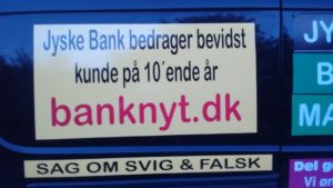 JYSKE BANKs SVINDEL / FRAUD - CALL / OPRÅB :-) Can the bank director CEO Anders Dam not understand We only want to talk with the bank, JYSKE BANK And find a solution, so we can get our life back We are talking about The last 10 years, the bank provisionally has deceived us. The Danish bank took 10 years from us. :-) Please talk to us #AndersChristianDam Rather than continue deceive us With a false interest rate swap, for a loan that has not never existed We write, and write, and write, while the bank continues the very deliberate fraud which the entire Group Board is aware of. :-) :-) A case that is so inflamed, that not even the Danish press does dare comment on it. do you think that there is something about what we are writing about. Would you ask the bank management Jyske Bank Link to the bank further down Why they will not answer their customer And deliver a copy of the loan, 4.328.000 DKK as the bank claiming the customer has borrowed i Nykredit As the Danish Bank changes interest rates, for the last 10 years, Actually since January 1, 2009 - Now the customer discovered and informed the Jyske Bank Jyske 3-bold Bank May 2016 that there was no loan taken. We are talking about fraud for millions, against just one customer :-) :-) Where do you come into contact with a fraudster who just does not want to stop deceiving you Have tried for over 2 years. DO YOU HAVE A SUGGESTION :-) from www.banknyt.dk Startede i jyske bank Helsingør I.L Tvedes Vej 7. 3000 Helsingør Dagblad Godt hjulpet af jyske bank medlemmer eller ansatte på Vesterbro, Vesterbrogade 9. Men godt assisteret af jyske bank hoved kontor i Silkeborg Vestergade Hvor koncern ledelsen / bestyrelsen ved Anders Christian Dam nu hjælper til med at dette svindel fortsætter Jyske Banks advokater som lyver for retten Tilbød 2-11-2016 forligs møde Men med den agenda at ville lave en rente bytte på et andet lån, for at sløre svindlen. ------------ Journalist Press just ask Danish Bank Jyske bank why the bank does not admit fraud And start to apologize all crimes. https://www.jyskebank.dk/kontakt/afdelingsinfo?departmentid=11660 :-) #Journalist #Press When the Danish banks deceive their customers a case of fraud in Danish banks against customers :-( :-( when the #danish #banks as #jyskebank are making fraud And the gang leader, controls the bank's fraud. :-( Anders Dam Bank's CEO refuses to quit. So it only shows how criminal the Danish jyske bank is. :-) Do not trust the #JyskeBank they are #lying constantly, when the bank cheats you The fraud that is #organized through by 3 departments, and many members of the organization JYSKE BANK :-( The Danish bank jyske bank is a criminal offense, Follow the case in Danish law BS 99-698/2015 :-) :-) Thanks to all of you we meet on the road. Which gives us your full support to the fight against the Danish fraud bank. JYSKE BANK :-) :-) Please ask the bank, jyske bank if we have raised a loan of DKK 4.328.000 In Danish bank nykredit. as the bank writes to their customer who is ill after a brain bleeding - As the bank is facing Danish courts and claim is a loan behind the interest rate swap The swsp Jyske Bank itself made 16-07-2008 https://facebook.com/JyskeBank.dk/photos/a.1468232419878888.1073741869.1045397795495688/1468234663211997/?type=3&source=54&ref=page_internal :-( contact the bank here https://www.jyskebank.dk/omjyskebank/organisation/koncernledergruppe - Also ask about date and evidence that the loan offer has been withdrawn in due time before expiry :-) :-) And ask for the prompt contact to Nykredit Denmark And ask why (new credit bank) Nykredit, first would answer the question, after nykredit received a subpoena, to speak true. - Even at a meeting Nykredit refused to sign anything. Not to provide evidence against Jyske Bank for fraud - But after several letters admit Nykredit Bank on writing - There is no loan of 4.328.000 kr https://facebook.com/JyskeBank.dk/photos/a.1051107938258007.1073741840.1045397795495688/1344678722234259/?type=3&source=54&ref=page_internal :-( :-( So nothing to change interest rates https://facebook.com/JyskeBank.dk/photos/a.1045554925479975.1073741831.1045397795495688/1045554998813301/?type=3&source=54&ref=page_internal Thus admit Nykredit Bank that their friends in Jyske Bank are making fraud against Danish customers :-( :-( :-( Today June 29th claims Jyske Bank that a loan of DKK 4.328.000 Has been reduced to DKK 2.927.634 and raised interest rates DKK 81.182 https://facebook.com/JyskeBank.dk/photos/a.1046306905404777.1073741835.1045397795495688/1755579747810819/?type=3&source=54 :-) :-) Group management jyske bank know, at least since May 2016 There is no loan of 4.328.000 DKK And that has never existed. And the ceo is conscious about the fraud against the bank's customer :-) Nevertheless, the bank continues the fraud But now with the Group's Board of Directors knowledge and approval :-) The bank will not respond to anything Do you want to investigate the fraud case as a journalist? :-( :-( Fraud that the bank jyske bank has committed, over the past 10 years. :-) :-) https://facebook.com/story.php?story_fbid=10217380674608165&id=1213101334&ref=bookmarks Will make it better, when we share timeline, with link to Appendix :-) www.banknyt.dk /-----------/ #ANDERSDAM I SPIDSEN AF DEN STORE DANSKE NOK SMÅ #KRIMINELLE #BANK #JYSKEBANK Godt hjulpet af #Les www.les.dk #LundElmerSandager #Advokater :-) #JYSKE BANK BLEV OPDAGET / TAGET I AT LAVE #MANDATSVIG #BEDRAGERI #DOKUMENTFALSK #UDNYTTELSE #SVIG #FALSK :-) Banken skriver i fundamentet at jyskebank er #TROVÆRDIG #HÆDERLIG #ÆRLIG DET ER DET VI SKAL OPKLARE I DENNE HER SAG. :-) Offer spørger flere gange om jyske bank har nogle kommentar eller rettelser til www.banknyt.dk og opslag Jyske bank svare slet ikke :-) :-) We are still talking about 10 years of fraud Follow the case in Danish court Denmark Viborg BS 99-698/2015 :-) :-) Link to the bank's management jyske bank ask them please If we have borrowed DKK 4.328.000 as offered on May 20, 2008 in Nykredit The bank still take interest on this alleged loan in the 10th year. and refuses to answer anything :-) :-) Funny enough for all that loan is not existing just ask jyske bank why the bank does not admit fraud And start to apologize all crimes. https://www.jyskebank.dk/kontakt/afdelingsinfo?departmentid=11660 #Bank #AnderChristianDam #Financial #News #Press #Share #Pol #Recommendation #Sale #Firesale #AndersDam #JyskeBank #ATP #PFA #MortenUlrikGade #PhilipBaruch #LES #GF #BirgitBushThuesen #LundElmerSandager #Nykredit #MetteEgholmNielsen #Loan #Fraud #CasperDamOlsen #NicolaiHansen #gangcrimes #crimes :-) just ask jyske bank why the bank does not admit fraud And start to apologize all crimes. https://www.jyskebank.dk/kontakt/afdelingsinfo?departmentid=11660 #Koncernledelse #jyskebank #Koncernbestyrelsen #SvenBuhrkall #KurtBligaardPedersen #RinaAsmussen #PhilipBaruch #JensABorup #KeldNorup #ChristinaLykkeMunk #HaggaiKunisch #MarianneLillevang #Koncerndirektionen #AndersDam #LeifFLarsen #NielsErikJakobsen #PerSkovhus #PeterSchleidt / IMG_20180602_220321218