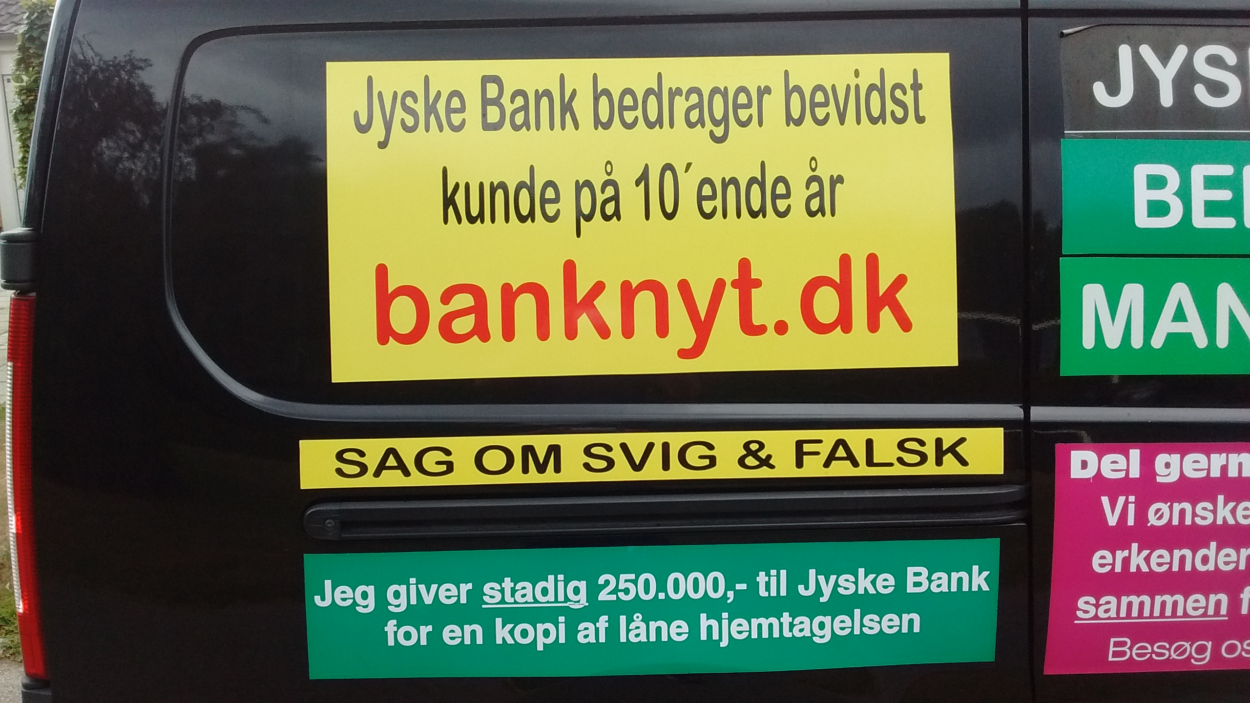JYSKE BANKs SVINDEL / FRAUD - CALL / OPRÅB :-) Can the bank director CEO Anders Dam not understand We only want to talk with the bank, JYSKE BANK And find a solution, so we can get our life back We are talking about The last 10 years, the bank provisionally has deceived us. The Danish bank took 10 years from us. :-) Please talk to us #AndersChristianDam Rather than continue deceive us With a false interest rate swap, for a loan that has not never existed We write, and write, and write, while the bank continues the very deliberate fraud which the entire Group Board is aware of. :-) :-) A case that is so inflamed, that not even the Danish press does dare comment on it. do you think that there is something about what we are writing about. Would you ask the bank management Jyske Bank Link to the bank further down Why they will not answer their customer And deliver a copy of the loan, 4.328.000 DKK as the bank claiming the customer has borrowed i Nykredit As the Danish Bank changes interest rates, for the last 10 years, Actually since January 1, 2009 - Now the customer discovered and informed the Jyske Bank Jyske 3-bold Bank May 2016 that there was no loan taken. We are talking about fraud for millions, against just one customer :-) :-) Where do you come into contact with a fraudster who just does not want to stop deceiving you Have tried for over 2 years. DO YOU HAVE A SUGGESTION :-) from www.banknyt.dk Startede i jyske bank Helsingør I.L Tvedes Vej 7. 3000 Helsingør Dagblad Godt hjulpet af jyske bank medlemmer eller ansatte på Vesterbro, Vesterbrogade 9. Men godt assisteret af jyske bank hoved kontor i Silkeborg Vestergade Hvor koncern ledelsen / bestyrelsen ved Anders Christian Dam nu hjælper til med at dette svindel fortsætter Jyske Banks advokater som lyver for retten Tilbød 2-11-2016 forligs møde Men med den agenda at ville lave en rente bytte på et andet lån, for at sløre svindlen. ------------ Journalist Press just ask Danish Bank Jyske bank why the bank does not admit fraud And start to apologize all crimes. https://www.jyskebank.dk/kontakt/afdelingsinfo?departmentid=11660 :-) #Journalist #Press When the Danish banks deceive their customers a case of fraud in Danish banks against customers :-( :-( when the #danish #banks as #jyskebank are making fraud And the gang leader, controls the bank's fraud. :-( Anders Dam Bank's CEO refuses to quit. So it only shows how criminal the Danish jyske bank is. :-) Do not trust the #JyskeBank they are #lying constantly, when the bank cheats you The fraud that is #organized through by 3 departments, and many members of the organization JYSKE BANK :-( The Danish bank jyske bank is a criminal offense, Follow the case in Danish law BS 99-698/2015 :-) :-) Thanks to all of you we meet on the road. Which gives us your full support to the fight against the Danish fraud bank. JYSKE BANK :-) :-) Please ask the bank, jyske bank if we have raised a loan of DKK 4.328.000 In Danish bank nykredit. as the bank writes to their customer who is ill after a brain bleeding - As the bank is facing Danish courts and claim is a loan behind the interest rate swap The swsp Jyske Bank itself made 16-07-2008 https://facebook.com/JyskeBank.dk/photos/a.1468232419878888.1073741869.1045397795495688/1468234663211997/?type=3&source=54&ref=page_internal :-( contact the bank here https://www.jyskebank.dk/omjyskebank/organisation/koncernledergruppe - Also ask about date and evidence that the loan offer has been withdrawn in due time before expiry :-) :-) And ask for the prompt contact to Nykredit Denmark And ask why (new credit bank) Nykredit, first would answer the question, after nykredit received a subpoena, to speak true. - Even at a meeting Nykredit refused to sign anything. Not to provide evidence against Jyske Bank for fraud - But after several letters admit Nykredit Bank on writing - There is no loan of 4.328.000 kr https://facebook.com/JyskeBank.dk/photos/a.1051107938258007.1073741840.1045397795495688/1344678722234259/?type=3&source=54&ref=page_internal :-( :-( So nothing to change interest rates https://facebook.com/JyskeBank.dk/photos/a.1045554925479975.1073741831.1045397795495688/1045554998813301/?type=3&source=54&ref=page_internal Thus admit Nykredit Bank that their friends in Jyske Bank are making fraud against Danish customers :-( :-( :-( Today June 29th claims Jyske Bank that a loan of DKK 4.328.000 Has been reduced to DKK 2.927.634 and raised interest rates DKK 81.182 https://facebook.com/JyskeBank.dk/photos/a.1046306905404777.1073741835.1045397795495688/1755579747810819/?type=3&source=54 :-) :-) Group management jyske bank know, at least since May 2016 There is no loan of 4.328.000 DKK And that has never existed. And the ceo is conscious about the fraud against the bank's customer :-) Nevertheless, the bank continues the fraud But now with the Group's Board of Directors knowledge and approval :-) The bank will not respond to anything Do you want to investigate the fraud case as a journalist? :-( :-( Fraud that the bank jyske bank has committed, over the past 10 years. :-) :-) https://facebook.com/story.php?story_fbid=10217380674608165&id=1213101334&ref=bookmarks Will make it better, when we share timeline, with link to Appendix :-) www.banknyt.dk /-----------/ #ANDERSDAM I SPIDSEN AF DEN STORE DANSKE NOK SMÅ #KRIMINELLE #BANK #JYSKEBANK Godt hjulpet af #Les www.les.dk #LundElmerSandager #Advokater :-) #JYSKE BANK BLEV OPDAGET / TAGET I AT LAVE #MANDATSVIG #BEDRAGERI #DOKUMENTFALSK #UDNYTTELSE #SVIG #FALSK :-) Banken skriver i fundamentet at jyskebank er #TROVÆRDIG #HÆDERLIG #ÆRLIG DET ER DET VI SKAL OPKLARE I DENNE HER SAG. :-) Offer spørger flere gange om jyske bank har nogle kommentar eller rettelser til www.banknyt.dk og opslag Jyske bank svare slet ikke :-) :-) We are still talking about 10 years of fraud Follow the case in Danish court Denmark Viborg BS 99-698/2015 :-) :-) Link to the bank's management jyske bank ask them please If we have borrowed DKK 4.328.000 as offered on May 20, 2008 in Nykredit The bank still take interest on this alleged loan in the 10th year. and refuses to answer anything :-) :-) Funny enough for all that loan is not existing just ask jyske bank why the bank does not admit fraud And start to apologize all crimes. https://www.jyskebank.dk/kontakt/afdelingsinfo?departmentid=11660 #Bank #AnderChristianDam #Financial #News #Press #Share #Pol #Recommendation #Sale #Firesale #AndersDam #JyskeBank #ATP #PFA #MortenUlrikGade #PhilipBaruch #LES #GF #BirgitBushThuesen #LundElmerSandager #Nykredit #MetteEgholmNielsen #Loan #Fraud #CasperDamOlsen #NicolaiHansen #gangcrimes #crimes :-) just ask jyske bank why the bank does not admit fraud And start to apologize all crimes. https://www.jyskebank.dk/kontakt/afdelingsinfo?departmentid=11660 #Koncernledelse #jyskebank #Koncernbestyrelsen #SvenBuhrkall #KurtBligaardPedersen #RinaAsmussen #PhilipBaruch #JensABorup #KeldNorup #ChristinaLykkeMunk #HaggaiKunisch #MarianneLillevang #Koncerndirektionen #AndersDam #LeifFLarsen #NielsErikJakobsen #PerSkovhus #PeterSchleidt / IMG_20180711_161803477