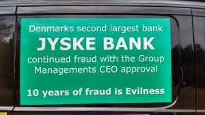 JYSKE BANKs SVINDEL / FRAUD - CALL / OPRÅB :-) Can the bank director CEO Anders Dam not understand We only want to talk with the bank, JYSKE BANK And find a solution, so we can get our life back We are talking about The last 10 years, the bank provisionally has deceived us. The Danish bank took 10 years from us. :-) Please talk to us #AndersChristianDam Rather than continue deceive us With a false interest rate swap, for a loan that has not never existed We write, and write, and write, while the bank continues the very deliberate fraud which the entire Group Board is aware of. :-) :-) A case that is so inflamed, that not even the Danish press does dare comment on it. do you think that there is something about what we are writing about. Would you ask the bank management Jyske Bank Link to the bank further down Why they will not answer their customer And deliver a copy of the loan, 4.328.000 DKK as the bank claiming the customer has borrowed i Nykredit As the Danish Bank changes interest rates, for the last 10 years, Actually since January 1, 2009 - Now the customer discovered and informed the Jyske Bank Jyske 3-bold Bank May 2016 that there was no loan taken. We are talking about fraud for millions, against just one customer :-) :-) Where do you come into contact with a fraudster who just does not want to stop deceiving you Have tried for over 2 years. DO YOU HAVE A SUGGESTION :-) from www.banknyt.dk Startede i jyske bank Helsingør I.L Tvedes Vej 7. 3000 Helsingør Dagblad Godt hjulpet af jyske bank medlemmer eller ansatte på Vesterbro, Vesterbrogade 9. Men godt assisteret af jyske bank hoved kontor i Silkeborg Vestergade Hvor koncern ledelsen / bestyrelsen ved Anders Christian Dam nu hjælper til med at dette svindel fortsætter Jyske Banks advokater som lyver for retten Tilbød 2-11-2016 forligs møde Men med den agenda at ville lave en rente bytte på et andet lån, for at sløre svindlen. ------------ Journalist Press just ask Danish Bank Jyske bank why the bank does not admit fraud And start to apologize all crimes. https://www.jyskebank.dk/kontakt/afdelingsinfo?departmentid=11660 :-) #Journalist #Press When the Danish banks deceive their customers a case of fraud in Danish banks against customers :-( :-( when the #danish #banks as #jyskebank are making fraud And the gang leader, controls the bank's fraud. :-( Anders Dam Bank's CEO refuses to quit. So it only shows how criminal the Danish jyske bank is. :-) Do not trust the #JyskeBank they are #lying constantly, when the bank cheats you The fraud that is #organized through by 3 departments, and many members of the organization JYSKE BANK :-( The Danish bank jyske bank is a criminal offense, Follow the case in Danish law BS 99-698/2015 :-) :-) Thanks to all of you we meet on the road. Which gives us your full support to the fight against the Danish fraud bank. JYSKE BANK :-) :-) Please ask the bank, jyske bank if we have raised a loan of DKK 4.328.000 In Danish bank nykredit. as the bank writes to their customer who is ill after a brain bleeding - As the bank is facing Danish courts and claim is a loan behind the interest rate swap The swsp Jyske Bank itself made 16-07-2008 https://facebook.com/JyskeBank.dk/photos/a.1468232419878888.1073741869.1045397795495688/1468234663211997/?type=3&source=54&ref=page_internal :-( contact the bank here https://www.jyskebank.dk/omjyskebank/organisation/koncernledergruppe - Also ask about date and evidence that the loan offer has been withdrawn in due time before expiry :-) :-) And ask for the prompt contact to Nykredit Denmark And ask why (new credit bank) Nykredit, first would answer the question, after nykredit received a subpoena, to speak true. - Even at a meeting Nykredit refused to sign anything. Not to provide evidence against Jyske Bank for fraud - But after several letters admit Nykredit Bank on writing - There is no loan of 4.328.000 kr https://facebook.com/JyskeBank.dk/photos/a.1051107938258007.1073741840.1045397795495688/1344678722234259/?type=3&source=54&ref=page_internal :-( :-( So nothing to change interest rates https://facebook.com/JyskeBank.dk/photos/a.1045554925479975.1073741831.1045397795495688/1045554998813301/?type=3&source=54&ref=page_internal Thus admit Nykredit Bank that their friends in Jyske Bank are making fraud against Danish customers :-( :-( :-( Today June 29th claims Jyske Bank that a loan of DKK 4.328.000 Has been reduced to DKK 2.927.634 and raised interest rates DKK 81.182 https://facebook.com/JyskeBank.dk/photos/a.1046306905404777.1073741835.1045397795495688/1755579747810819/?type=3&source=54 :-) :-) Group management jyske bank know, at least since May 2016 There is no loan of 4.328.000 DKK And that has never existed. And the ceo is conscious about the fraud against the bank's customer :-) Nevertheless, the bank continues the fraud But now with the Group's Board of Directors knowledge and approval :-) The bank will not respond to anything Do you want to investigate the fraud case as a journalist? :-( :-( Fraud that the bank jyske bank has committed, over the past 10 years. :-) :-) https://facebook.com/story.php?story_fbid=10217380674608165&id=1213101334&ref=bookmarks Will make it better, when we share timeline, with link to Appendix :-) www.banknyt.dk /-----------/ #ANDERSDAM I SPIDSEN AF DEN STORE DANSKE NOK SMÅ #KRIMINELLE #BANK #JYSKEBANK Godt hjulpet af #Les www.les.dk #LundElmerSandager #Advokater :-) #JYSKE BANK BLEV OPDAGET / TAGET I AT LAVE #MANDATSVIG #BEDRAGERI #DOKUMENTFALSK #UDNYTTELSE #SVIG #FALSK :-) Banken skriver i fundamentet at jyskebank er #TROVÆRDIG #HÆDERLIG #ÆRLIG DET ER DET VI SKAL OPKLARE I DENNE HER SAG. :-) Offer spørger flere gange om jyske bank har nogle kommentar eller rettelser til www.banknyt.dk og opslag Jyske bank svare slet ikke :-) :-) We are still talking about 10 years of fraud Follow the case in Danish court Denmark Viborg BS 99-698/2015 :-) :-) Link to the bank's management jyske bank ask them please If we have borrowed DKK 4.328.000 as offered on May 20, 2008 in Nykredit The bank still take interest on this alleged loan in the 10th year. and refuses to answer anything :-) :-) Funny enough for all that loan is not existing just ask jyske bank why the bank does not admit fraud And start to apologize all crimes. https://www.jyskebank.dk/kontakt/afdelingsinfo?departmentid=11660 #Bank #AnderChristianDam #Financial #News #Press #Share #Pol #Recommendation #Sale #Firesale #AndersDam #JyskeBank #ATP #PFA #MortenUlrikGade #PhilipBaruch #LES #GF #BirgitBushThuesen #LundElmerSandager #Nykredit #MetteEgholmNielsen #Loan #Fraud #CasperDamOlsen #NicolaiHansen #gangcrimes #crimes :-) just ask jyske bank why the bank does not admit fraud And start to apologize all crimes. https://www.jyskebank.dk/kontakt/afdelingsinfo?departmentid=11660 #Koncernledelse #jyskebank #Koncernbestyrelsen #SvenBuhrkall #KurtBligaardPedersen #RinaAsmussen #PhilipBaruch #JensABorup #KeldNorup #ChristinaLykkeMunk #HaggaiKunisch #MarianneLillevang #Koncerndirektionen #AndersDam #LeifFLarsen #NielsErikJakobsen #PerSkovhus #PeterSchleidt / IMG_20180711_165035917_HDR