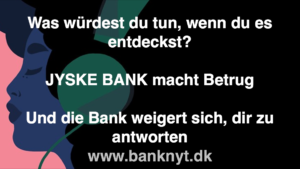 JYSKE BANKs SVINDEL / FRAUD - CALL / OPRÅB :-) Can the bank director CEO Anders Dam not understand We only want to talk with the bank, JYSKE BANK And find a solution, so we can get our life back We are talking about The last 10 years, the bank provisionally has deceived us. The Danish bank took 10 years from us. :-) Please talk to us #AndersChristianDam Rather than continue deceive us With a false interest rate swap, for a loan that has not never existed We write, and write, and write, while the bank continues the very deliberate fraud which the entire Group Board is aware of. :-) :-) A case that is so inflamed, that not even the Danish press does dare comment on it. do you think that there is something about what we are writing about. Would you ask the bank management Jyske Bank Link to the bank further down Why they will not answer their customer And deliver a copy of the loan, 4.328.000 DKK as the bank claiming the customer has borrowed i Nykredit As the Danish Bank changes interest rates, for the last 10 years, Actually since January 1, 2009 - Now the customer discovered and informed the Jyske Bank Jyske 3-bold Bank May 2016 that there was no loan taken. We are talking about fraud for millions, against just one customer :-) :-) Where do you come into contact with a fraudster who just does not want to stop deceiving you Have tried for over 2 years. DO YOU HAVE A SUGGESTION :-) from www.banknyt.dk Startede i jyske bank Helsingør I.L Tvedes Vej 7. 3000 Helsingør Dagblad Godt hjulpet af jyske bank medlemmer eller ansatte på Vesterbro, Vesterbrogade 9. Men godt assisteret af jyske bank hoved kontor i Silkeborg Vestergade Hvor koncern ledelsen / bestyrelsen ved Anders Christian Dam nu hjælper til med at dette svindel fortsætter Jyske Banks advokater som lyver for retten Tilbød 2-11-2016 forligs møde Men med den agenda at ville lave en rente bytte på et andet lån, for at sløre svindlen. ------------ Journalist Press just ask Danish Bank Jyske bank why the bank does not admit fraud And start to apologize all crimes. https://www.jyskebank.dk/kontakt/afdelingsinfo?departmentid=11660 :-) #Journalist #Press When the Danish banks deceive their customers a case of fraud in Danish banks against customers :-( :-( when the #danish #banks as #jyskebank are making fraud And the gang leader, controls the bank's fraud. :-( Anders Dam Bank's CEO refuses to quit. So it only shows how criminal the Danish jyske bank is. :-) Do not trust the #JyskeBank they are #lying constantly, when the bank cheats you The fraud that is #organized through by 3 departments, and many members of the organization JYSKE BANK :-( The Danish bank jyske bank is a criminal offense, Follow the case in Danish law BS 99-698/2015 :-) :-) Thanks to all of you we meet on the road. Which gives us your full support to the fight against the Danish fraud bank. JYSKE BANK :-) :-) Please ask the bank, jyske bank if we have raised a loan of DKK 4.328.000 In Danish bank nykredit. as the bank writes to their customer who is ill after a brain bleeding - As the bank is facing Danish courts and claim is a loan behind the interest rate swap The swsp Jyske Bank itself made 16-07-2008 https://facebook.com/JyskeBank.dk/photos/a.1468232419878888.1073741869.1045397795495688/1468234663211997/?type=3&source=54&ref=page_internal :-( contact the bank here https://www.jyskebank.dk/omjyskebank/organisation/koncernledergruppe - Also ask about date and evidence that the loan offer has been withdrawn in due time before expiry :-) :-) And ask for the prompt contact to Nykredit Denmark And ask why (new credit bank) Nykredit, first would answer the question, after nykredit received a subpoena, to speak true. - Even at a meeting Nykredit refused to sign anything. Not to provide evidence against Jyske Bank for fraud - But after several letters admit Nykredit Bank on writing - There is no loan of 4.328.000 kr https://facebook.com/JyskeBank.dk/photos/a.1051107938258007.1073741840.1045397795495688/1344678722234259/?type=3&source=54&ref=page_internal :-( :-( So nothing to change interest rates https://facebook.com/JyskeBank.dk/photos/a.1045554925479975.1073741831.1045397795495688/1045554998813301/?type=3&source=54&ref=page_internal Thus admit Nykredit Bank that their friends in Jyske Bank are making fraud against Danish customers :-( :-( :-( Today June 29th claims Jyske Bank that a loan of DKK 4.328.000 Has been reduced to DKK 2.927.634 and raised interest rates DKK 81.182 https://facebook.com/JyskeBank.dk/photos/a.1046306905404777.1073741835.1045397795495688/1755579747810819/?type=3&source=54 :-) :-) Group management jyske bank know, at least since May 2016 There is no loan of 4.328.000 DKK And that has never existed. And the ceo is conscious about the fraud against the bank's customer :-) Nevertheless, the bank continues the fraud But now with the Group's Board of Directors knowledge and approval :-) The bank will not respond to anything Do you want to investigate the fraud case as a journalist? :-( :-( Fraud that the bank jyske bank has committed, over the past 10 years. :-) :-) https://facebook.com/story.php?story_fbid=10217380674608165&id=1213101334&ref=bookmarks Will make it better, when we share timeline, with link to Appendix :-) www.banknyt.dk /-----------/ #ANDERSDAM I SPIDSEN AF DEN STORE DANSKE NOK SMÅ #KRIMINELLE #BANK #JYSKEBANK Godt hjulpet af #Les www.les.dk #LundElmerSandager #Advokater :-) #JYSKE BANK BLEV OPDAGET / TAGET I AT LAVE #MANDATSVIG #BEDRAGERI #DOKUMENTFALSK #UDNYTTELSE #SVIG #FALSK :-) Banken skriver i fundamentet at jyskebank er #TROVÆRDIG #HÆDERLIG #ÆRLIG DET ER DET VI SKAL OPKLARE I DENNE HER SAG. :-) Offer spørger flere gange om jyske bank har nogle kommentar eller rettelser til www.banknyt.dk og opslag Jyske bank svare slet ikke :-) :-) We are still talking about 10 years of fraud Follow the case in Danish court Denmark Viborg BS 99-698/2015 :-) :-) Link to the bank's management jyske bank ask them please If we have borrowed DKK 4.328.000 as offered on May 20, 2008 in Nykredit The bank still take interest on this alleged loan in the 10th year. and refuses to answer anything :-) :-) Funny enough for all that loan is not existing just ask jyske bank why the bank does not admit fraud And start to apologize all crimes. https://www.jyskebank.dk/kontakt/afdelingsinfo?departmentid=11660 #Bank #AnderChristianDam #Financial #News #Press #Share #Pol #Recommendation #Sale #Firesale #AndersDam #JyskeBank #ATP #PFA #MortenUlrikGade #PhilipBaruch #LES #GF #BirgitBushThuesen #LundElmerSandager #Nykredit #MetteEgholmNielsen #Loan #Fraud #CasperDamOlsen #NicolaiHansen #gangcrimes #crimes :-) just ask jyske bank why the bank does not admit fraud And start to apologize all crimes. https://www.jyskebank.dk/kontakt/afdelingsinfo?departmentid=11660 #Koncernledelse #jyskebank #Koncernbestyrelsen #SvenBuhrkall #KurtBligaardPedersen #RinaAsmussen #PhilipBaruch #JensABorup #KeldNorup #ChristinaLykkeMunk #HaggaiKunisch #MarianneLillevang #Koncerndirektionen #AndersDam #LeifFLarsen #NielsErikJakobsen #PerSkovhus #PeterSchleidt / IMG_2522