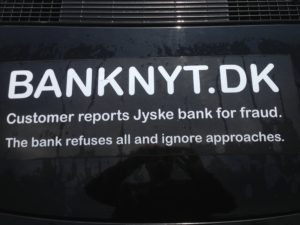 JYSKE BANKs SVINDEL / FRAUD - CALL / OPRÅB :-) Can the bank director CEO Anders Dam not understand We only want to talk with the bank, JYSKE BANK And find a solution, so we can get our life back We are talking about The last 10 years, the bank provisionally has deceived us. The Danish bank took 10 years from us. :-) Please talk to us #AndersChristianDam Rather than continue deceive us With a false interest rate swap, for a loan that has not never existed We write, and write, and write, while the bank continues the very deliberate fraud which the entire Group Board is aware of. :-) :-) A case that is so inflamed, that not even the Danish press does dare comment on it. do you think that there is something about what we are writing about. Would you ask the bank management Jyske Bank Link to the bank further down Why they will not answer their customer And deliver a copy of the loan, 4.328.000 DKK as the bank claiming the customer has borrowed i Nykredit As the Danish Bank changes interest rates, for the last 10 years, Actually since January 1, 2009 - Now the customer discovered and informed the Jyske Bank Jyske 3-bold Bank May 2016 that there was no loan taken. We are talking about fraud for millions, against just one customer :-) :-) Where do you come into contact with a fraudster who just does not want to stop deceiving you Have tried for over 2 years. DO YOU HAVE A SUGGESTION :-) from www.banknyt.dk Startede i jyske bank Helsingør I.L Tvedes Vej 7. 3000 Helsingør Dagblad Godt hjulpet af jyske bank medlemmer eller ansatte på Vesterbro, Vesterbrogade 9. Men godt assisteret af jyske bank hoved kontor i Silkeborg Vestergade Hvor koncern ledelsen / bestyrelsen ved Anders Christian Dam nu hjælper til med at dette svindel fortsætter Jyske Banks advokater som lyver for retten Tilbød 2-11-2016 forligs møde Men med den agenda at ville lave en rente bytte på et andet lån, for at sløre svindlen. ------------ Journalist Press just ask Danish Bank Jyske bank why the bank does not admit fraud And start to apologize all crimes. https://www.jyskebank.dk/kontakt/afdelingsinfo?departmentid=11660 :-) #Journalist #Press When the Danish banks deceive their customers a case of fraud in Danish banks against customers :-( :-( when the #danish #banks as #jyskebank are making fraud And the gang leader, controls the bank's fraud. :-( Anders Dam Bank's CEO refuses to quit. So it only shows how criminal the Danish jyske bank is. :-) Do not trust the #JyskeBank they are #lying constantly, when the bank cheats you The fraud that is #organized through by 3 departments, and many members of the organization JYSKE BANK :-( The Danish bank jyske bank is a criminal offense, Follow the case in Danish law BS 99-698/2015 :-) :-) Thanks to all of you we meet on the road. Which gives us your full support to the fight against the Danish fraud bank. JYSKE BANK :-) :-) Please ask the bank, jyske bank if we have raised a loan of DKK 4.328.000 In Danish bank nykredit. as the bank writes to their customer who is ill after a brain bleeding - As the bank is facing Danish courts and claim is a loan behind the interest rate swap The swsp Jyske Bank itself made 16-07-2008 https://facebook.com/JyskeBank.dk/photos/a.1468232419878888.1073741869.1045397795495688/1468234663211997/?type=3&source=54&ref=page_internal :-( contact the bank here https://www.jyskebank.dk/omjyskebank/organisation/koncernledergruppe - Also ask about date and evidence that the loan offer has been withdrawn in due time before expiry :-) :-) And ask for the prompt contact to Nykredit Denmark And ask why (new credit bank) Nykredit, first would answer the question, after nykredit received a subpoena, to speak true. - Even at a meeting Nykredit refused to sign anything. Not to provide evidence against Jyske Bank for fraud - But after several letters admit Nykredit Bank on writing - There is no loan of 4.328.000 kr https://facebook.com/JyskeBank.dk/photos/a.1051107938258007.1073741840.1045397795495688/1344678722234259/?type=3&source=54&ref=page_internal :-( :-( So nothing to change interest rates https://facebook.com/JyskeBank.dk/photos/a.1045554925479975.1073741831.1045397795495688/1045554998813301/?type=3&source=54&ref=page_internal Thus admit Nykredit Bank that their friends in Jyske Bank are making fraud against Danish customers :-( :-( :-( Today June 29th claims Jyske Bank that a loan of DKK 4.328.000 Has been reduced to DKK 2.927.634 and raised interest rates DKK 81.182 https://facebook.com/JyskeBank.dk/photos/a.1046306905404777.1073741835.1045397795495688/1755579747810819/?type=3&source=54 :-) :-) Group management jyske bank know, at least since May 2016 There is no loan of 4.328.000 DKK And that has never existed. And the ceo is conscious about the fraud against the bank's customer :-) Nevertheless, the bank continues the fraud But now with the Group's Board of Directors knowledge and approval :-) The bank will not respond to anything Do you want to investigate the fraud case as a journalist? :-( :-( Fraud that the bank jyske bank has committed, over the past 10 years. :-) :-) https://facebook.com/story.php?story_fbid=10217380674608165&id=1213101334&ref=bookmarks Will make it better, when we share timeline, with link to Appendix :-) www.banknyt.dk /-----------/ #ANDERSDAM I SPIDSEN AF DEN STORE DANSKE NOK SMÅ #KRIMINELLE #BANK #JYSKEBANK Godt hjulpet af #Les www.les.dk #LundElmerSandager #Advokater :-) #JYSKE BANK BLEV OPDAGET / TAGET I AT LAVE #MANDATSVIG #BEDRAGERI #DOKUMENTFALSK #UDNYTTELSE #SVIG #FALSK :-) Banken skriver i fundamentet at jyskebank er #TROVÆRDIG #HÆDERLIG #ÆRLIG DET ER DET VI SKAL OPKLARE I DENNE HER SAG. :-) Offer spørger flere gange om jyske bank har nogle kommentar eller rettelser til www.banknyt.dk og opslag Jyske bank svare slet ikke :-) :-) We are still talking about 10 years of fraud Follow the case in Danish court Denmark Viborg BS 99-698/2015 :-) :-) Link to the bank's management jyske bank ask them please If we have borrowed DKK 4.328.000 as offered on May 20, 2008 in Nykredit The bank still take interest on this alleged loan in the 10th year. and refuses to answer anything :-) :-) Funny enough for all that loan is not existing just ask jyske bank why the bank does not admit fraud And start to apologize all crimes. https://www.jyskebank.dk/kontakt/afdelingsinfo?departmentid=11660 #Bank #AnderChristianDam #Financial #News #Press #Share #Pol #Recommendation #Sale #Firesale #AndersDam #JyskeBank #ATP #PFA #MortenUlrikGade #PhilipBaruch #LES #GF #BirgitBushThuesen #LundElmerSandager #Nykredit #MetteEgholmNielsen #Loan #Fraud #CasperDamOlsen #NicolaiHansen #gangcrimes #crimes :-) just ask jyske bank why the bank does not admit fraud And start to apologize all crimes. https://www.jyskebank.dk/kontakt/afdelingsinfo?departmentid=11660 #Koncernledelse #jyskebank #Koncernbestyrelsen #SvenBuhrkall #KurtBligaardPedersen #RinaAsmussen #PhilipBaruch #JensABorup #KeldNorup #ChristinaLykkeMunk #HaggaiKunisch #MarianneLillevang #Koncerndirektionen #AndersDam #LeifFLarsen #NielsErikJakobsen #PerSkovhus #PeterSchleidt / IMG_2589