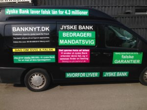JYSKE BANKs SVINDEL / FRAUD - CALL / OPRÅB :-) Can the bank director CEO Anders Dam not understand We only want to talk with the bank, JYSKE BANK And find a solution, so we can get our life back We are talking about The last 10 years, the bank provisionally has deceived us. The Danish bank took 10 years from us. :-) Please talk to us #AndersChristianDam Rather than continue deceive us With a false interest rate swap, for a loan that has not never existed We write, and write, and write, while the bank continues the very deliberate fraud which the entire Group Board is aware of. :-) :-) A case that is so inflamed, that not even the Danish press does dare comment on it. do you think that there is something about what we are writing about. Would you ask the bank management Jyske Bank Link to the bank further down Why they will not answer their customer And deliver a copy of the loan, 4.328.000 DKK as the bank claiming the customer has borrowed i Nykredit As the Danish Bank changes interest rates, for the last 10 years, Actually since January 1, 2009 - Now the customer discovered and informed the Jyske Bank Jyske 3-bold Bank May 2016 that there was no loan taken. We are talking about fraud for millions, against just one customer :-) :-) Where do you come into contact with a fraudster who just does not want to stop deceiving you Have tried for over 2 years. DO YOU HAVE A SUGGESTION :-) from www.banknyt.dk Startede i jyske bank Helsingør I.L Tvedes Vej 7. 3000 Helsingør Dagblad Godt hjulpet af jyske bank medlemmer eller ansatte på Vesterbro, Vesterbrogade 9. Men godt assisteret af jyske bank hoved kontor i Silkeborg Vestergade Hvor koncern ledelsen / bestyrelsen ved Anders Christian Dam nu hjælper til med at dette svindel fortsætter Jyske Banks advokater som lyver for retten Tilbød 2-11-2016 forligs møde Men med den agenda at ville lave en rente bytte på et andet lån, for at sløre svindlen. ------------ Journalist Press just ask Danish Bank Jyske bank why the bank does not admit fraud And start to apologize all crimes. https://www.jyskebank.dk/kontakt/afdelingsinfo?departmentid=11660 :-) #Journalist #Press When the Danish banks deceive their customers a case of fraud in Danish banks against customers :-( :-( when the #danish #banks as #jyskebank are making fraud And the gang leader, controls the bank's fraud. :-( Anders Dam Bank's CEO refuses to quit. So it only shows how criminal the Danish jyske bank is. :-) Do not trust the #JyskeBank they are #lying constantly, when the bank cheats you The fraud that is #organized through by 3 departments, and many members of the organization JYSKE BANK :-( The Danish bank jyske bank is a criminal offense, Follow the case in Danish law BS 99-698/2015 :-) :-) Thanks to all of you we meet on the road. Which gives us your full support to the fight against the Danish fraud bank. JYSKE BANK :-) :-) Please ask the bank, jyske bank if we have raised a loan of DKK 4.328.000 In Danish bank nykredit. as the bank writes to their customer who is ill after a brain bleeding - As the bank is facing Danish courts and claim is a loan behind the interest rate swap The swsp Jyske Bank itself made 16-07-2008 https://facebook.com/JyskeBank.dk/photos/a.1468232419878888.1073741869.1045397795495688/1468234663211997/?type=3&source=54&ref=page_internal :-( contact the bank here https://www.jyskebank.dk/omjyskebank/organisation/koncernledergruppe - Also ask about date and evidence that the loan offer has been withdrawn in due time before expiry :-) :-) And ask for the prompt contact to Nykredit Denmark And ask why (new credit bank) Nykredit, first would answer the question, after nykredit received a subpoena, to speak true. - Even at a meeting Nykredit refused to sign anything. Not to provide evidence against Jyske Bank for fraud - But after several letters admit Nykredit Bank on writing - There is no loan of 4.328.000 kr https://facebook.com/JyskeBank.dk/photos/a.1051107938258007.1073741840.1045397795495688/1344678722234259/?type=3&source=54&ref=page_internal :-( :-( So nothing to change interest rates https://facebook.com/JyskeBank.dk/photos/a.1045554925479975.1073741831.1045397795495688/1045554998813301/?type=3&source=54&ref=page_internal Thus admit Nykredit Bank that their friends in Jyske Bank are making fraud against Danish customers :-( :-( :-( Today June 29th claims Jyske Bank that a loan of DKK 4.328.000 Has been reduced to DKK 2.927.634 and raised interest rates DKK 81.182 https://facebook.com/JyskeBank.dk/photos/a.1046306905404777.1073741835.1045397795495688/1755579747810819/?type=3&source=54 :-) :-) Group management jyske bank know, at least since May 2016 There is no loan of 4.328.000 DKK And that has never existed. And the ceo is conscious about the fraud against the bank's customer :-) Nevertheless, the bank continues the fraud But now with the Group's Board of Directors knowledge and approval :-) The bank will not respond to anything Do you want to investigate the fraud case as a journalist? :-( :-( Fraud that the bank jyske bank has committed, over the past 10 years. :-) :-) https://facebook.com/story.php?story_fbid=10217380674608165&id=1213101334&ref=bookmarks Will make it better, when we share timeline, with link to Appendix :-) www.banknyt.dk /-----------/ #ANDERSDAM I SPIDSEN AF DEN STORE DANSKE NOK SMÅ #KRIMINELLE #BANK #JYSKEBANK Godt hjulpet af #Les www.les.dk #LundElmerSandager #Advokater :-) #JYSKE BANK BLEV OPDAGET / TAGET I AT LAVE #MANDATSVIG #BEDRAGERI #DOKUMENTFALSK #UDNYTTELSE #SVIG #FALSK :-) Banken skriver i fundamentet at jyskebank er #TROVÆRDIG #HÆDERLIG #ÆRLIG DET ER DET VI SKAL OPKLARE I DENNE HER SAG. :-) Offer spørger flere gange om jyske bank har nogle kommentar eller rettelser til www.banknyt.dk og opslag Jyske bank svare slet ikke :-) :-) We are still talking about 10 years of fraud Follow the case in Danish court Denmark Viborg BS 99-698/2015 :-) :-) Link to the bank's management jyske bank ask them please If we have borrowed DKK 4.328.000 as offered on May 20, 2008 in Nykredit The bank still take interest on this alleged loan in the 10th year. and refuses to answer anything :-) :-) Funny enough for all that loan is not existing just ask jyske bank why the bank does not admit fraud And start to apologize all crimes. https://www.jyskebank.dk/kontakt/afdelingsinfo?departmentid=11660 #Bank #AnderChristianDam #Financial #News #Press #Share #Pol #Recommendation #Sale #Firesale #AndersDam #JyskeBank #ATP #PFA #MortenUlrikGade #PhilipBaruch #LES #GF #BirgitBushThuesen #LundElmerSandager #Nykredit #MetteEgholmNielsen #Loan #Fraud #CasperDamOlsen #NicolaiHansen #gangcrimes #crimes :-) just ask jyske bank why the bank does not admit fraud And start to apologize all crimes. https://www.jyskebank.dk/kontakt/afdelingsinfo?departmentid=11660 #Koncernledelse #jyskebank #Koncernbestyrelsen #SvenBuhrkall #KurtBligaardPedersen #RinaAsmussen #PhilipBaruch #JensABorup #KeldNorup #ChristinaLykkeMunk #HaggaiKunisch #MarianneLillevang #Koncerndirektionen #AndersDam #LeifFLarsen #NielsErikJakobsen #PerSkovhus #PeterSchleidt / IMG_2615