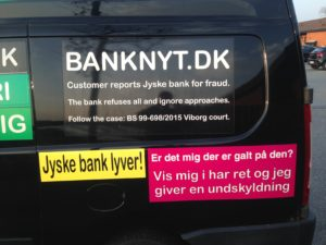 JYSKE BANKs SVINDEL / FRAUD - CALL / OPRÅB :-) Can the bank director CEO Anders Dam not understand We only want to talk with the bank, JYSKE BANK And find a solution, so we can get our life back We are talking about The last 10 years, the bank provisionally has deceived us. The Danish bank took 10 years from us. :-) Please talk to us #AndersChristianDam Rather than continue deceive us With a false interest rate swap, for a loan that has not never existed We write, and write, and write, while the bank continues the very deliberate fraud which the entire Group Board is aware of. :-) :-) A case that is so inflamed, that not even the Danish press does dare comment on it. do you think that there is something about what we are writing about. Would you ask the bank management Jyske Bank Link to the bank further down Why they will not answer their customer And deliver a copy of the loan, 4.328.000 DKK as the bank claiming the customer has borrowed i Nykredit As the Danish Bank changes interest rates, for the last 10 years, Actually since January 1, 2009 - Now the customer discovered and informed the Jyske Bank Jyske 3-bold Bank May 2016 that there was no loan taken. We are talking about fraud for millions, against just one customer :-) :-) Where do you come into contact with a fraudster who just does not want to stop deceiving you Have tried for over 2 years. DO YOU HAVE A SUGGESTION :-) from www.banknyt.dk Startede i jyske bank Helsingør I.L Tvedes Vej 7. 3000 Helsingør Dagblad Godt hjulpet af jyske bank medlemmer eller ansatte på Vesterbro, Vesterbrogade 9. Men godt assisteret af jyske bank hoved kontor i Silkeborg Vestergade Hvor koncern ledelsen / bestyrelsen ved Anders Christian Dam nu hjælper til med at dette svindel fortsætter Jyske Banks advokater som lyver for retten Tilbød 2-11-2016 forligs møde Men med den agenda at ville lave en rente bytte på et andet lån, for at sløre svindlen. ------------ Journalist Press just ask Danish Bank Jyske bank why the bank does not admit fraud And start to apologize all crimes. https://www.jyskebank.dk/kontakt/afdelingsinfo?departmentid=11660 :-) #Journalist #Press When the Danish banks deceive their customers a case of fraud in Danish banks against customers :-( :-( when the #danish #banks as #jyskebank are making fraud And the gang leader, controls the bank's fraud. :-( Anders Dam Bank's CEO refuses to quit. So it only shows how criminal the Danish jyske bank is. :-) Do not trust the #JyskeBank they are #lying constantly, when the bank cheats you The fraud that is #organized through by 3 departments, and many members of the organization JYSKE BANK :-( The Danish bank jyske bank is a criminal offense, Follow the case in Danish law BS 99-698/2015 :-) :-) Thanks to all of you we meet on the road. Which gives us your full support to the fight against the Danish fraud bank. JYSKE BANK :-) :-) Please ask the bank, jyske bank if we have raised a loan of DKK 4.328.000 In Danish bank nykredit. as the bank writes to their customer who is ill after a brain bleeding - As the bank is facing Danish courts and claim is a loan behind the interest rate swap The swsp Jyske Bank itself made 16-07-2008 https://facebook.com/JyskeBank.dk/photos/a.1468232419878888.1073741869.1045397795495688/1468234663211997/?type=3&source=54&ref=page_internal :-( contact the bank here https://www.jyskebank.dk/omjyskebank/organisation/koncernledergruppe - Also ask about date and evidence that the loan offer has been withdrawn in due time before expiry :-) :-) And ask for the prompt contact to Nykredit Denmark And ask why (new credit bank) Nykredit, first would answer the question, after nykredit received a subpoena, to speak true. - Even at a meeting Nykredit refused to sign anything. Not to provide evidence against Jyske Bank for fraud - But after several letters admit Nykredit Bank on writing - There is no loan of 4.328.000 kr https://facebook.com/JyskeBank.dk/photos/a.1051107938258007.1073741840.1045397795495688/1344678722234259/?type=3&source=54&ref=page_internal :-( :-( So nothing to change interest rates https://facebook.com/JyskeBank.dk/photos/a.1045554925479975.1073741831.1045397795495688/1045554998813301/?type=3&source=54&ref=page_internal Thus admit Nykredit Bank that their friends in Jyske Bank are making fraud against Danish customers :-( :-( :-( Today June 29th claims Jyske Bank that a loan of DKK 4.328.000 Has been reduced to DKK 2.927.634 and raised interest rates DKK 81.182 https://facebook.com/JyskeBank.dk/photos/a.1046306905404777.1073741835.1045397795495688/1755579747810819/?type=3&source=54 :-) :-) Group management jyske bank know, at least since May 2016 There is no loan of 4.328.000 DKK And that has never existed. And the ceo is conscious about the fraud against the bank's customer :-) Nevertheless, the bank continues the fraud But now with the Group's Board of Directors knowledge and approval :-) The bank will not respond to anything Do you want to investigate the fraud case as a journalist? :-( :-( Fraud that the bank jyske bank has committed, over the past 10 years. :-) :-) https://facebook.com/story.php?story_fbid=10217380674608165&id=1213101334&ref=bookmarks Will make it better, when we share timeline, with link to Appendix :-) www.banknyt.dk /-----------/ #ANDERSDAM I SPIDSEN AF DEN STORE DANSKE NOK SMÅ #KRIMINELLE #BANK #JYSKEBANK Godt hjulpet af #Les www.les.dk #LundElmerSandager #Advokater :-) #JYSKE BANK BLEV OPDAGET / TAGET I AT LAVE #MANDATSVIG #BEDRAGERI #DOKUMENTFALSK #UDNYTTELSE #SVIG #FALSK :-) Banken skriver i fundamentet at jyskebank er #TROVÆRDIG #HÆDERLIG #ÆRLIG DET ER DET VI SKAL OPKLARE I DENNE HER SAG. :-) Offer spørger flere gange om jyske bank har nogle kommentar eller rettelser til www.banknyt.dk og opslag Jyske bank svare slet ikke :-) :-) We are still talking about 10 years of fraud Follow the case in Danish court Denmark Viborg BS 99-698/2015 :-) :-) Link to the bank's management jyske bank ask them please If we have borrowed DKK 4.328.000 as offered on May 20, 2008 in Nykredit The bank still take interest on this alleged loan in the 10th year. and refuses to answer anything :-) :-) Funny enough for all that loan is not existing just ask jyske bank why the bank does not admit fraud And start to apologize all crimes. https://www.jyskebank.dk/kontakt/afdelingsinfo?departmentid=11660 #Bank #AnderChristianDam #Financial #News #Press #Share #Pol #Recommendation #Sale #Firesale #AndersDam #JyskeBank #ATP #PFA #MortenUlrikGade #PhilipBaruch #LES #GF #BirgitBushThuesen #LundElmerSandager #Nykredit #MetteEgholmNielsen #Loan #Fraud #CasperDamOlsen #NicolaiHansen #gangcrimes #crimes :-) just ask jyske bank why the bank does not admit fraud And start to apologize all crimes. https://www.jyskebank.dk/kontakt/afdelingsinfo?departmentid=11660 #Koncernledelse #jyskebank #Koncernbestyrelsen #SvenBuhrkall #KurtBligaardPedersen #RinaAsmussen #PhilipBaruch #JensABorup #KeldNorup #ChristinaLykkeMunk #HaggaiKunisch #MarianneLillevang #Koncerndirektionen #AndersDam #LeifFLarsen #NielsErikJakobsen #PerSkovhus #PeterSchleidt / IMG_2640