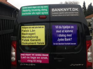 JYSKE BANKs SVINDEL / FRAUD - CALL / OPRÅB :-) Can the bank director CEO Anders Dam not understand We only want to talk with the bank, JYSKE BANK And find a solution, so we can get our life back We are talking about The last 10 years, the bank provisionally has deceived us. The Danish bank took 10 years from us. :-) Please talk to us #AndersChristianDam Rather than continue deceive us With a false interest rate swap, for a loan that has not never existed We write, and write, and write, while the bank continues the very deliberate fraud which the entire Group Board is aware of. :-) :-) A case that is so inflamed, that not even the Danish press does dare comment on it. do you think that there is something about what we are writing about. Would you ask the bank management Jyske Bank Link to the bank further down Why they will not answer their customer And deliver a copy of the loan, 4.328.000 DKK as the bank claiming the customer has borrowed i Nykredit As the Danish Bank changes interest rates, for the last 10 years, Actually since January 1, 2009 - Now the customer discovered and informed the Jyske Bank Jyske 3-bold Bank May 2016 that there was no loan taken. We are talking about fraud for millions, against just one customer :-) :-) Where do you come into contact with a fraudster who just does not want to stop deceiving you Have tried for over 2 years. DO YOU HAVE A SUGGESTION :-) from www.banknyt.dk Startede i jyske bank Helsingør I.L Tvedes Vej 7. 3000 Helsingør Dagblad Godt hjulpet af jyske bank medlemmer eller ansatte på Vesterbro, Vesterbrogade 9. Men godt assisteret af jyske bank hoved kontor i Silkeborg Vestergade Hvor koncern ledelsen / bestyrelsen ved Anders Christian Dam nu hjælper til med at dette svindel fortsætter Jyske Banks advokater som lyver for retten Tilbød 2-11-2016 forligs møde Men med den agenda at ville lave en rente bytte på et andet lån, for at sløre svindlen. ------------ Journalist Press just ask Danish Bank Jyske bank why the bank does not admit fraud And start to apologize all crimes. https://www.jyskebank.dk/kontakt/afdelingsinfo?departmentid=11660 :-) #Journalist #Press When the Danish banks deceive their customers a case of fraud in Danish banks against customers :-( :-( when the #danish #banks as #jyskebank are making fraud And the gang leader, controls the bank's fraud. :-( Anders Dam Bank's CEO refuses to quit. So it only shows how criminal the Danish jyske bank is. :-) Do not trust the #JyskeBank they are #lying constantly, when the bank cheats you The fraud that is #organized through by 3 departments, and many members of the organization JYSKE BANK :-( The Danish bank jyske bank is a criminal offense, Follow the case in Danish law BS 99-698/2015 :-) :-) Thanks to all of you we meet on the road. Which gives us your full support to the fight against the Danish fraud bank. JYSKE BANK :-) :-) Please ask the bank, jyske bank if we have raised a loan of DKK 4.328.000 In Danish bank nykredit. as the bank writes to their customer who is ill after a brain bleeding - As the bank is facing Danish courts and claim is a loan behind the interest rate swap The swsp Jyske Bank itself made 16-07-2008 https://facebook.com/JyskeBank.dk/photos/a.1468232419878888.1073741869.1045397795495688/1468234663211997/?type=3&source=54&ref=page_internal :-( contact the bank here https://www.jyskebank.dk/omjyskebank/organisation/koncernledergruppe - Also ask about date and evidence that the loan offer has been withdrawn in due time before expiry :-) :-) And ask for the prompt contact to Nykredit Denmark And ask why (new credit bank) Nykredit, first would answer the question, after nykredit received a subpoena, to speak true. - Even at a meeting Nykredit refused to sign anything. Not to provide evidence against Jyske Bank for fraud - But after several letters admit Nykredit Bank on writing - There is no loan of 4.328.000 kr https://facebook.com/JyskeBank.dk/photos/a.1051107938258007.1073741840.1045397795495688/1344678722234259/?type=3&source=54&ref=page_internal :-( :-( So nothing to change interest rates https://facebook.com/JyskeBank.dk/photos/a.1045554925479975.1073741831.1045397795495688/1045554998813301/?type=3&source=54&ref=page_internal Thus admit Nykredit Bank that their friends in Jyske Bank are making fraud against Danish customers :-( :-( :-( Today June 29th claims Jyske Bank that a loan of DKK 4.328.000 Has been reduced to DKK 2.927.634 and raised interest rates DKK 81.182 https://facebook.com/JyskeBank.dk/photos/a.1046306905404777.1073741835.1045397795495688/1755579747810819/?type=3&source=54 :-) :-) Group management jyske bank know, at least since May 2016 There is no loan of 4.328.000 DKK And that has never existed. And the ceo is conscious about the fraud against the bank's customer :-) Nevertheless, the bank continues the fraud But now with the Group's Board of Directors knowledge and approval :-) The bank will not respond to anything Do you want to investigate the fraud case as a journalist? :-( :-( Fraud that the bank jyske bank has committed, over the past 10 years. :-) :-) https://facebook.com/story.php?story_fbid=10217380674608165&id=1213101334&ref=bookmarks Will make it better, when we share timeline, with link to Appendix :-) www.banknyt.dk /-----------/ #ANDERSDAM I SPIDSEN AF DEN STORE DANSKE NOK SMÅ #KRIMINELLE #BANK #JYSKEBANK Godt hjulpet af #Les www.les.dk #LundElmerSandager #Advokater :-) #JYSKE BANK BLEV OPDAGET / TAGET I AT LAVE #MANDATSVIG #BEDRAGERI #DOKUMENTFALSK #UDNYTTELSE #SVIG #FALSK :-) Banken skriver i fundamentet at jyskebank er #TROVÆRDIG #HÆDERLIG #ÆRLIG DET ER DET VI SKAL OPKLARE I DENNE HER SAG. :-) Offer spørger flere gange om jyske bank har nogle kommentar eller rettelser til www.banknyt.dk og opslag Jyske bank svare slet ikke :-) :-) We are still talking about 10 years of fraud Follow the case in Danish court Denmark Viborg BS 99-698/2015 :-) :-) Link to the bank's management jyske bank ask them please If we have borrowed DKK 4.328.000 as offered on May 20, 2008 in Nykredit The bank still take interest on this alleged loan in the 10th year. and refuses to answer anything :-) :-) Funny enough for all that loan is not existing just ask jyske bank why the bank does not admit fraud And start to apologize all crimes. https://www.jyskebank.dk/kontakt/afdelingsinfo?departmentid=11660 #Bank #AnderChristianDam #Financial #News #Press #Share #Pol #Recommendation #Sale #Firesale #AndersDam #JyskeBank #ATP #PFA #MortenUlrikGade #PhilipBaruch #LES #GF #BirgitBushThuesen #LundElmerSandager #Nykredit #MetteEgholmNielsen #Loan #Fraud #CasperDamOlsen #NicolaiHansen #gangcrimes #crimes :-) just ask jyske bank why the bank does not admit fraud And start to apologize all crimes. https://www.jyskebank.dk/kontakt/afdelingsinfo?departmentid=11660 #Koncernledelse #jyskebank #Koncernbestyrelsen #SvenBuhrkall #KurtBligaardPedersen #RinaAsmussen #PhilipBaruch #JensABorup #KeldNorup #ChristinaLykkeMunk #HaggaiKunisch #MarianneLillevang #Koncerndirektionen #AndersDam #LeifFLarsen #NielsErikJakobsen #PerSkovhus #PeterSchleidt / IMG_2661