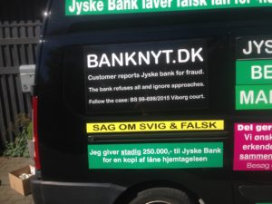 JYSKE BANKs SVINDEL / FRAUD - CALL / OPRÅB :-) Can the bank director CEO Anders Dam not understand We only want to talk with the bank, JYSKE BANK And find a solution, so we can get our life back We are talking about The last 10 years, the bank provisionally has deceived us. The Danish bank took 10 years from us. :-) Please talk to us #AndersChristianDam Rather than continue deceive us With a false interest rate swap, for a loan that has not never existed We write, and write, and write, while the bank continues the very deliberate fraud which the entire Group Board is aware of. :-) :-) A case that is so inflamed, that not even the Danish press does dare comment on it. do you think that there is something about what we are writing about. Would you ask the bank management Jyske Bank Link to the bank further down Why they will not answer their customer And deliver a copy of the loan, 4.328.000 DKK as the bank claiming the customer has borrowed i Nykredit As the Danish Bank changes interest rates, for the last 10 years, Actually since January 1, 2009 - Now the customer discovered and informed the Jyske Bank Jyske 3-bold Bank May 2016 that there was no loan taken. We are talking about fraud for millions, against just one customer :-) :-) Where do you come into contact with a fraudster who just does not want to stop deceiving you Have tried for over 2 years. DO YOU HAVE A SUGGESTION :-) from www.banknyt.dk Startede i jyske bank Helsingør I.L Tvedes Vej 7. 3000 Helsingør Dagblad Godt hjulpet af jyske bank medlemmer eller ansatte på Vesterbro, Vesterbrogade 9. Men godt assisteret af jyske bank hoved kontor i Silkeborg Vestergade Hvor koncern ledelsen / bestyrelsen ved Anders Christian Dam nu hjælper til med at dette svindel fortsætter Jyske Banks advokater som lyver for retten Tilbød 2-11-2016 forligs møde Men med den agenda at ville lave en rente bytte på et andet lån, for at sløre svindlen. ------------ Journalist Press just ask Danish Bank Jyske bank why the bank does not admit fraud And start to apologize all crimes. https://www.jyskebank.dk/kontakt/afdelingsinfo?departmentid=11660 :-) #Journalist #Press When the Danish banks deceive their customers a case of fraud in Danish banks against customers :-( :-( when the #danish #banks as #jyskebank are making fraud And the gang leader, controls the bank's fraud. :-( Anders Dam Bank's CEO refuses to quit. So it only shows how criminal the Danish jyske bank is. :-) Do not trust the #JyskeBank they are #lying constantly, when the bank cheats you The fraud that is #organized through by 3 departments, and many members of the organization JYSKE BANK :-( The Danish bank jyske bank is a criminal offense, Follow the case in Danish law BS 99-698/2015 :-) :-) Thanks to all of you we meet on the road. Which gives us your full support to the fight against the Danish fraud bank. JYSKE BANK :-) :-) Please ask the bank, jyske bank if we have raised a loan of DKK 4.328.000 In Danish bank nykredit. as the bank writes to their customer who is ill after a brain bleeding - As the bank is facing Danish courts and claim is a loan behind the interest rate swap The swsp Jyske Bank itself made 16-07-2008 https://facebook.com/JyskeBank.dk/photos/a.1468232419878888.1073741869.1045397795495688/1468234663211997/?type=3&source=54&ref=page_internal :-( contact the bank here https://www.jyskebank.dk/omjyskebank/organisation/koncernledergruppe - Also ask about date and evidence that the loan offer has been withdrawn in due time before expiry :-) :-) And ask for the prompt contact to Nykredit Denmark And ask why (new credit bank) Nykredit, first would answer the question, after nykredit received a subpoena, to speak true. - Even at a meeting Nykredit refused to sign anything. Not to provide evidence against Jyske Bank for fraud - But after several letters admit Nykredit Bank on writing - There is no loan of 4.328.000 kr https://facebook.com/JyskeBank.dk/photos/a.1051107938258007.1073741840.1045397795495688/1344678722234259/?type=3&source=54&ref=page_internal :-( :-( So nothing to change interest rates https://facebook.com/JyskeBank.dk/photos/a.1045554925479975.1073741831.1045397795495688/1045554998813301/?type=3&source=54&ref=page_internal Thus admit Nykredit Bank that their friends in Jyske Bank are making fraud against Danish customers :-( :-( :-( Today June 29th claims Jyske Bank that a loan of DKK 4.328.000 Has been reduced to DKK 2.927.634 and raised interest rates DKK 81.182 https://facebook.com/JyskeBank.dk/photos/a.1046306905404777.1073741835.1045397795495688/1755579747810819/?type=3&source=54 :-) :-) Group management jyske bank know, at least since May 2016 There is no loan of 4.328.000 DKK And that has never existed. And the ceo is conscious about the fraud against the bank's customer :-) Nevertheless, the bank continues the fraud But now with the Group's Board of Directors knowledge and approval :-) The bank will not respond to anything Do you want to investigate the fraud case as a journalist? :-( :-( Fraud that the bank jyske bank has committed, over the past 10 years. :-) :-) https://facebook.com/story.php?story_fbid=10217380674608165&id=1213101334&ref=bookmarks Will make it better, when we share timeline, with link to Appendix :-) www.banknyt.dk /-----------/ #ANDERSDAM I SPIDSEN AF DEN STORE DANSKE NOK SMÅ #KRIMINELLE #BANK #JYSKEBANK Godt hjulpet af #Les www.les.dk #LundElmerSandager #Advokater :-) #JYSKE BANK BLEV OPDAGET / TAGET I AT LAVE #MANDATSVIG #BEDRAGERI #DOKUMENTFALSK #UDNYTTELSE #SVIG #FALSK :-) Banken skriver i fundamentet at jyskebank er #TROVÆRDIG #HÆDERLIG #ÆRLIG DET ER DET VI SKAL OPKLARE I DENNE HER SAG. :-) Offer spørger flere gange om jyske bank har nogle kommentar eller rettelser til www.banknyt.dk og opslag Jyske bank svare slet ikke :-) :-) We are still talking about 10 years of fraud Follow the case in Danish court Denmark Viborg BS 99-698/2015 :-) :-) Link to the bank's management jyske bank ask them please If we have borrowed DKK 4.328.000 as offered on May 20, 2008 in Nykredit The bank still take interest on this alleged loan in the 10th year. and refuses to answer anything :-) :-) Funny enough for all that loan is not existing just ask jyske bank why the bank does not admit fraud And start to apologize all crimes. https://www.jyskebank.dk/kontakt/afdelingsinfo?departmentid=11660 #Bank #AnderChristianDam #Financial #News #Press #Share #Pol #Recommendation #Sale #Firesale #AndersDam #JyskeBank #ATP #PFA #MortenUlrikGade #PhilipBaruch #LES #GF #BirgitBushThuesen #LundElmerSandager #Nykredit #MetteEgholmNielsen #Loan #Fraud #CasperDamOlsen #NicolaiHansen #gangcrimes #crimes :-) just ask jyske bank why the bank does not admit fraud And start to apologize all crimes. https://www.jyskebank.dk/kontakt/afdelingsinfo?departmentid=11660 #Koncernledelse #jyskebank #Koncernbestyrelsen #SvenBuhrkall #KurtBligaardPedersen #RinaAsmussen #PhilipBaruch #JensABorup #KeldNorup #ChristinaLykkeMunk #HaggaiKunisch #MarianneLillevang #Koncerndirektionen #AndersDam #LeifFLarsen #NielsErikJakobsen #PerSkovhus #PeterSchleidt / IMG_3091