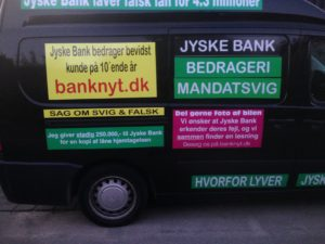 JYSKE BANKs SVINDEL / FRAUD - CALL / OPRÅB :-) Can the bank director CEO Anders Dam not understand We only want to talk with the bank, JYSKE BANK And find a solution, so we can get our life back We are talking about The last 10 years, the bank provisionally has deceived us. The Danish bank took 10 years from us. :-) Please talk to us #AndersChristianDam Rather than continue deceive us With a false interest rate swap, for a loan that has not never existed We write, and write, and write, while the bank continues the very deliberate fraud which the entire Group Board is aware of. :-) :-) A case that is so inflamed, that not even the Danish press does dare comment on it. do you think that there is something about what we are writing about. Would you ask the bank management Jyske Bank Link to the bank further down Why they will not answer their customer And deliver a copy of the loan, 4.328.000 DKK as the bank claiming the customer has borrowed i Nykredit As the Danish Bank changes interest rates, for the last 10 years, Actually since January 1, 2009 - Now the customer discovered and informed the Jyske Bank Jyske 3-bold Bank May 2016 that there was no loan taken. We are talking about fraud for millions, against just one customer :-) :-) Where do you come into contact with a fraudster who just does not want to stop deceiving you Have tried for over 2 years. DO YOU HAVE A SUGGESTION :-) from www.banknyt.dk Startede i jyske bank Helsingør I.L Tvedes Vej 7. 3000 Helsingør Dagblad Godt hjulpet af jyske bank medlemmer eller ansatte på Vesterbro, Vesterbrogade 9. Men godt assisteret af jyske bank hoved kontor i Silkeborg Vestergade Hvor koncern ledelsen / bestyrelsen ved Anders Christian Dam nu hjælper til med at dette svindel fortsætter Jyske Banks advokater som lyver for retten Tilbød 2-11-2016 forligs møde Men med den agenda at ville lave en rente bytte på et andet lån, for at sløre svindlen. ------------ Journalist Press just ask Danish Bank Jyske bank why the bank does not admit fraud And start to apologize all crimes. https://www.jyskebank.dk/kontakt/afdelingsinfo?departmentid=11660 :-) #Journalist #Press When the Danish banks deceive their customers a case of fraud in Danish banks against customers :-( :-( when the #danish #banks as #jyskebank are making fraud And the gang leader, controls the bank's fraud. :-( Anders Dam Bank's CEO refuses to quit. So it only shows how criminal the Danish jyske bank is. :-) Do not trust the #JyskeBank they are #lying constantly, when the bank cheats you The fraud that is #organized through by 3 departments, and many members of the organization JYSKE BANK :-( The Danish bank jyske bank is a criminal offense, Follow the case in Danish law BS 99-698/2015 :-) :-) Thanks to all of you we meet on the road. Which gives us your full support to the fight against the Danish fraud bank. JYSKE BANK :-) :-) Please ask the bank, jyske bank if we have raised a loan of DKK 4.328.000 In Danish bank nykredit. as the bank writes to their customer who is ill after a brain bleeding - As the bank is facing Danish courts and claim is a loan behind the interest rate swap The swsp Jyske Bank itself made 16-07-2008 https://facebook.com/JyskeBank.dk/photos/a.1468232419878888.1073741869.1045397795495688/1468234663211997/?type=3&source=54&ref=page_internal :-( contact the bank here https://www.jyskebank.dk/omjyskebank/organisation/koncernledergruppe - Also ask about date and evidence that the loan offer has been withdrawn in due time before expiry :-) :-) And ask for the prompt contact to Nykredit Denmark And ask why (new credit bank) Nykredit, first would answer the question, after nykredit received a subpoena, to speak true. - Even at a meeting Nykredit refused to sign anything. Not to provide evidence against Jyske Bank for fraud - But after several letters admit Nykredit Bank on writing - There is no loan of 4.328.000 kr https://facebook.com/JyskeBank.dk/photos/a.1051107938258007.1073741840.1045397795495688/1344678722234259/?type=3&source=54&ref=page_internal :-( :-( So nothing to change interest rates https://facebook.com/JyskeBank.dk/photos/a.1045554925479975.1073741831.1045397795495688/1045554998813301/?type=3&source=54&ref=page_internal Thus admit Nykredit Bank that their friends in Jyske Bank are making fraud against Danish customers :-( :-( :-( Today June 29th claims Jyske Bank that a loan of DKK 4.328.000 Has been reduced to DKK 2.927.634 and raised interest rates DKK 81.182 https://facebook.com/JyskeBank.dk/photos/a.1046306905404777.1073741835.1045397795495688/1755579747810819/?type=3&source=54 :-) :-) Group management jyske bank know, at least since May 2016 There is no loan of 4.328.000 DKK And that has never existed. And the ceo is conscious about the fraud against the bank's customer :-) Nevertheless, the bank continues the fraud But now with the Group's Board of Directors knowledge and approval :-) The bank will not respond to anything Do you want to investigate the fraud case as a journalist? :-( :-( Fraud that the bank jyske bank has committed, over the past 10 years. :-) :-) https://facebook.com/story.php?story_fbid=10217380674608165&id=1213101334&ref=bookmarks Will make it better, when we share timeline, with link to Appendix :-) www.banknyt.dk /-----------/ #ANDERSDAM I SPIDSEN AF DEN STORE DANSKE NOK SMÅ #KRIMINELLE #BANK #JYSKEBANK Godt hjulpet af #Les www.les.dk #LundElmerSandager #Advokater :-) #JYSKE BANK BLEV OPDAGET / TAGET I AT LAVE #MANDATSVIG #BEDRAGERI #DOKUMENTFALSK #UDNYTTELSE #SVIG #FALSK :-) Banken skriver i fundamentet at jyskebank er #TROVÆRDIG #HÆDERLIG #ÆRLIG DET ER DET VI SKAL OPKLARE I DENNE HER SAG. :-) Offer spørger flere gange om jyske bank har nogle kommentar eller rettelser til www.banknyt.dk og opslag Jyske bank svare slet ikke :-) :-) We are still talking about 10 years of fraud Follow the case in Danish court Denmark Viborg BS 99-698/2015 :-) :-) Link to the bank's management jyske bank ask them please If we have borrowed DKK 4.328.000 as offered on May 20, 2008 in Nykredit The bank still take interest on this alleged loan in the 10th year. and refuses to answer anything :-) :-) Funny enough for all that loan is not existing just ask jyske bank why the bank does not admit fraud And start to apologize all crimes. https://www.jyskebank.dk/kontakt/afdelingsinfo?departmentid=11660 #Bank #AnderChristianDam #Financial #News #Press #Share #Pol #Recommendation #Sale #Firesale #AndersDam #JyskeBank #ATP #PFA #MortenUlrikGade #PhilipBaruch #LES #GF #BirgitBushThuesen #LundElmerSandager #Nykredit #MetteEgholmNielsen #Loan #Fraud #CasperDamOlsen #NicolaiHansen #gangcrimes #crimes :-) just ask jyske bank why the bank does not admit fraud And start to apologize all crimes. https://www.jyskebank.dk/kontakt/afdelingsinfo?departmentid=11660 #Koncernledelse #jyskebank #Koncernbestyrelsen #SvenBuhrkall #KurtBligaardPedersen #RinaAsmussen #PhilipBaruch #JensABorup #KeldNorup #ChristinaLykkeMunk #HaggaiKunisch #MarianneLillevang #Koncerndirektionen #AndersDam #LeifFLarsen #NielsErikJakobsen #PerSkovhus #PeterSchleidt / IMG_3104