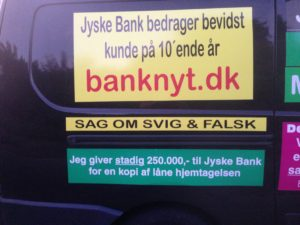 JYSKE BANKs SVINDEL / FRAUD - CALL / OPRÅB :-) Can the bank director CEO Anders Dam not understand We only want to talk with the bank, JYSKE BANK And find a solution, so we can get our life back We are talking about The last 10 years, the bank provisionally has deceived us. The Danish bank took 10 years from us. :-) Please talk to us #AndersChristianDam Rather than continue deceive us With a false interest rate swap, for a loan that has not never existed We write, and write, and write, while the bank continues the very deliberate fraud which the entire Group Board is aware of. :-) :-) A case that is so inflamed, that not even the Danish press does dare comment on it. do you think that there is something about what we are writing about. Would you ask the bank management Jyske Bank Link to the bank further down Why they will not answer their customer And deliver a copy of the loan, 4.328.000 DKK as the bank claiming the customer has borrowed i Nykredit As the Danish Bank changes interest rates, for the last 10 years, Actually since January 1, 2009 - Now the customer discovered and informed the Jyske Bank Jyske 3-bold Bank May 2016 that there was no loan taken. We are talking about fraud for millions, against just one customer :-) :-) Where do you come into contact with a fraudster who just does not want to stop deceiving you Have tried for over 2 years. DO YOU HAVE A SUGGESTION :-) from www.banknyt.dk Startede i jyske bank Helsingør I.L Tvedes Vej 7. 3000 Helsingør Dagblad Godt hjulpet af jyske bank medlemmer eller ansatte på Vesterbro, Vesterbrogade 9. Men godt assisteret af jyske bank hoved kontor i Silkeborg Vestergade Hvor koncern ledelsen / bestyrelsen ved Anders Christian Dam nu hjælper til med at dette svindel fortsætter Jyske Banks advokater som lyver for retten Tilbød 2-11-2016 forligs møde Men med den agenda at ville lave en rente bytte på et andet lån, for at sløre svindlen. ------------ Journalist Press just ask Danish Bank Jyske bank why the bank does not admit fraud And start to apologize all crimes. https://www.jyskebank.dk/kontakt/afdelingsinfo?departmentid=11660 :-) #Journalist #Press When the Danish banks deceive their customers a case of fraud in Danish banks against customers :-( :-( when the #danish #banks as #jyskebank are making fraud And the gang leader, controls the bank's fraud. :-( Anders Dam Bank's CEO refuses to quit. So it only shows how criminal the Danish jyske bank is. :-) Do not trust the #JyskeBank they are #lying constantly, when the bank cheats you The fraud that is #organized through by 3 departments, and many members of the organization JYSKE BANK :-( The Danish bank jyske bank is a criminal offense, Follow the case in Danish law BS 99-698/2015 :-) :-) Thanks to all of you we meet on the road. Which gives us your full support to the fight against the Danish fraud bank. JYSKE BANK :-) :-) Please ask the bank, jyske bank if we have raised a loan of DKK 4.328.000 In Danish bank nykredit. as the bank writes to their customer who is ill after a brain bleeding - As the bank is facing Danish courts and claim is a loan behind the interest rate swap The swsp Jyske Bank itself made 16-07-2008 https://facebook.com/JyskeBank.dk/photos/a.1468232419878888.1073741869.1045397795495688/1468234663211997/?type=3&source=54&ref=page_internal :-( contact the bank here https://www.jyskebank.dk/omjyskebank/organisation/koncernledergruppe - Also ask about date and evidence that the loan offer has been withdrawn in due time before expiry :-) :-) And ask for the prompt contact to Nykredit Denmark And ask why (new credit bank) Nykredit, first would answer the question, after nykredit received a subpoena, to speak true. - Even at a meeting Nykredit refused to sign anything. Not to provide evidence against Jyske Bank for fraud - But after several letters admit Nykredit Bank on writing - There is no loan of 4.328.000 kr https://facebook.com/JyskeBank.dk/photos/a.1051107938258007.1073741840.1045397795495688/1344678722234259/?type=3&source=54&ref=page_internal :-( :-( So nothing to change interest rates https://facebook.com/JyskeBank.dk/photos/a.1045554925479975.1073741831.1045397795495688/1045554998813301/?type=3&source=54&ref=page_internal Thus admit Nykredit Bank that their friends in Jyske Bank are making fraud against Danish customers :-( :-( :-( Today June 29th claims Jyske Bank that a loan of DKK 4.328.000 Has been reduced to DKK 2.927.634 and raised interest rates DKK 81.182 https://facebook.com/JyskeBank.dk/photos/a.1046306905404777.1073741835.1045397795495688/1755579747810819/?type=3&source=54 :-) :-) Group management jyske bank know, at least since May 2016 There is no loan of 4.328.000 DKK And that has never existed. And the ceo is conscious about the fraud against the bank's customer :-) Nevertheless, the bank continues the fraud But now with the Group's Board of Directors knowledge and approval :-) The bank will not respond to anything Do you want to investigate the fraud case as a journalist? :-( :-( Fraud that the bank jyske bank has committed, over the past 10 years. :-) :-) https://facebook.com/story.php?story_fbid=10217380674608165&id=1213101334&ref=bookmarks Will make it better, when we share timeline, with link to Appendix :-) www.banknyt.dk /-----------/ #ANDERSDAM I SPIDSEN AF DEN STORE DANSKE NOK SMÅ #KRIMINELLE #BANK #JYSKEBANK Godt hjulpet af #Les www.les.dk #LundElmerSandager #Advokater :-) #JYSKE BANK BLEV OPDAGET / TAGET I AT LAVE #MANDATSVIG #BEDRAGERI #DOKUMENTFALSK #UDNYTTELSE #SVIG #FALSK :-) Banken skriver i fundamentet at jyskebank er #TROVÆRDIG #HÆDERLIG #ÆRLIG DET ER DET VI SKAL OPKLARE I DENNE HER SAG. :-) Offer spørger flere gange om jyske bank har nogle kommentar eller rettelser til www.banknyt.dk og opslag Jyske bank svare slet ikke :-) :-) We are still talking about 10 years of fraud Follow the case in Danish court Denmark Viborg BS 99-698/2015 :-) :-) Link to the bank's management jyske bank ask them please If we have borrowed DKK 4.328.000 as offered on May 20, 2008 in Nykredit The bank still take interest on this alleged loan in the 10th year. and refuses to answer anything :-) :-) Funny enough for all that loan is not existing just ask jyske bank why the bank does not admit fraud And start to apologize all crimes. https://www.jyskebank.dk/kontakt/afdelingsinfo?departmentid=11660 #Bank #AnderChristianDam #Financial #News #Press #Share #Pol #Recommendation #Sale #Firesale #AndersDam #JyskeBank #ATP #PFA #MortenUlrikGade #PhilipBaruch #LES #GF #BirgitBushThuesen #LundElmerSandager #Nykredit #MetteEgholmNielsen #Loan #Fraud #CasperDamOlsen #NicolaiHansen #gangcrimes #crimes :-) just ask jyske bank why the bank does not admit fraud And start to apologize all crimes. https://www.jyskebank.dk/kontakt/afdelingsinfo?departmentid=11660 #Koncernledelse #jyskebank #Koncernbestyrelsen #SvenBuhrkall #KurtBligaardPedersen #RinaAsmussen #PhilipBaruch #JensABorup #KeldNorup #ChristinaLykkeMunk #HaggaiKunisch #MarianneLillevang #Koncerndirektionen #AndersDam #LeifFLarsen #NielsErikJakobsen #PerSkovhus #PeterSchleidt / IMG_3111