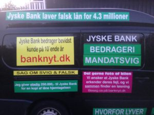 JYSKE BANKs SVINDEL / FRAUD - CALL / OPRÅB :-) Can the bank director CEO Anders Dam not understand We only want to talk with the bank, JYSKE BANK And find a solution, so we can get our life back We are talking about The last 10 years, the bank provisionally has deceived us. The Danish bank took 10 years from us. :-) Please talk to us #AndersChristianDam Rather than continue deceive us With a false interest rate swap, for a loan that has not never existed We write, and write, and write, while the bank continues the very deliberate fraud which the entire Group Board is aware of. :-) :-) A case that is so inflamed, that not even the Danish press does dare comment on it. do you think that there is something about what we are writing about. Would you ask the bank management Jyske Bank Link to the bank further down Why they will not answer their customer And deliver a copy of the loan, 4.328.000 DKK as the bank claiming the customer has borrowed i Nykredit As the Danish Bank changes interest rates, for the last 10 years, Actually since January 1, 2009 - Now the customer discovered and informed the Jyske Bank Jyske 3-bold Bank May 2016 that there was no loan taken. We are talking about fraud for millions, against just one customer :-) :-) Where do you come into contact with a fraudster who just does not want to stop deceiving you Have tried for over 2 years. DO YOU HAVE A SUGGESTION :-) from www.banknyt.dk Startede i jyske bank Helsingør I.L Tvedes Vej 7. 3000 Helsingør Dagblad Godt hjulpet af jyske bank medlemmer eller ansatte på Vesterbro, Vesterbrogade 9. Men godt assisteret af jyske bank hoved kontor i Silkeborg Vestergade Hvor koncern ledelsen / bestyrelsen ved Anders Christian Dam nu hjælper til med at dette svindel fortsætter Jyske Banks advokater som lyver for retten Tilbød 2-11-2016 forligs møde Men med den agenda at ville lave en rente bytte på et andet lån, for at sløre svindlen. ------------ Journalist Press just ask Danish Bank Jyske bank why the bank does not admit fraud And start to apologize all crimes. https://www.jyskebank.dk/kontakt/afdelingsinfo?departmentid=11660 :-) #Journalist #Press When the Danish banks deceive their customers a case of fraud in Danish banks against customers :-( :-( when the #danish #banks as #jyskebank are making fraud And the gang leader, controls the bank's fraud. :-( Anders Dam Bank's CEO refuses to quit. So it only shows how criminal the Danish jyske bank is. :-) Do not trust the #JyskeBank they are #lying constantly, when the bank cheats you The fraud that is #organized through by 3 departments, and many members of the organization JYSKE BANK :-( The Danish bank jyske bank is a criminal offense, Follow the case in Danish law BS 99-698/2015 :-) :-) Thanks to all of you we meet on the road. Which gives us your full support to the fight against the Danish fraud bank. JYSKE BANK :-) :-) Please ask the bank, jyske bank if we have raised a loan of DKK 4.328.000 In Danish bank nykredit. as the bank writes to their customer who is ill after a brain bleeding - As the bank is facing Danish courts and claim is a loan behind the interest rate swap The swsp Jyske Bank itself made 16-07-2008 https://facebook.com/JyskeBank.dk/photos/a.1468232419878888.1073741869.1045397795495688/1468234663211997/?type=3&source=54&ref=page_internal :-( contact the bank here https://www.jyskebank.dk/omjyskebank/organisation/koncernledergruppe - Also ask about date and evidence that the loan offer has been withdrawn in due time before expiry :-) :-) And ask for the prompt contact to Nykredit Denmark And ask why (new credit bank) Nykredit, first would answer the question, after nykredit received a subpoena, to speak true. - Even at a meeting Nykredit refused to sign anything. Not to provide evidence against Jyske Bank for fraud - But after several letters admit Nykredit Bank on writing - There is no loan of 4.328.000 kr https://facebook.com/JyskeBank.dk/photos/a.1051107938258007.1073741840.1045397795495688/1344678722234259/?type=3&source=54&ref=page_internal :-( :-( So nothing to change interest rates https://facebook.com/JyskeBank.dk/photos/a.1045554925479975.1073741831.1045397795495688/1045554998813301/?type=3&source=54&ref=page_internal Thus admit Nykredit Bank that their friends in Jyske Bank are making fraud against Danish customers :-( :-( :-( Today June 29th claims Jyske Bank that a loan of DKK 4.328.000 Has been reduced to DKK 2.927.634 and raised interest rates DKK 81.182 https://facebook.com/JyskeBank.dk/photos/a.1046306905404777.1073741835.1045397795495688/1755579747810819/?type=3&source=54 :-) :-) Group management jyske bank know, at least since May 2016 There is no loan of 4.328.000 DKK And that has never existed. And the ceo is conscious about the fraud against the bank's customer :-) Nevertheless, the bank continues the fraud But now with the Group's Board of Directors knowledge and approval :-) The bank will not respond to anything Do you want to investigate the fraud case as a journalist? :-( :-( Fraud that the bank jyske bank has committed, over the past 10 years. :-) :-) https://facebook.com/story.php?story_fbid=10217380674608165&id=1213101334&ref=bookmarks Will make it better, when we share timeline, with link to Appendix :-) www.banknyt.dk /-----------/ #ANDERSDAM I SPIDSEN AF DEN STORE DANSKE NOK SMÅ #KRIMINELLE #BANK #JYSKEBANK Godt hjulpet af #Les www.les.dk #LundElmerSandager #Advokater :-) #JYSKE BANK BLEV OPDAGET / TAGET I AT LAVE #MANDATSVIG #BEDRAGERI #DOKUMENTFALSK #UDNYTTELSE #SVIG #FALSK :-) Banken skriver i fundamentet at jyskebank er #TROVÆRDIG #HÆDERLIG #ÆRLIG DET ER DET VI SKAL OPKLARE I DENNE HER SAG. :-) Offer spørger flere gange om jyske bank har nogle kommentar eller rettelser til www.banknyt.dk og opslag Jyske bank svare slet ikke :-) :-) We are still talking about 10 years of fraud Follow the case in Danish court Denmark Viborg BS 99-698/2015 :-) :-) Link to the bank's management jyske bank ask them please If we have borrowed DKK 4.328.000 as offered on May 20, 2008 in Nykredit The bank still take interest on this alleged loan in the 10th year. and refuses to answer anything :-) :-) Funny enough for all that loan is not existing just ask jyske bank why the bank does not admit fraud And start to apologize all crimes. https://www.jyskebank.dk/kontakt/afdelingsinfo?departmentid=11660 #Bank #AnderChristianDam #Financial #News #Press #Share #Pol #Recommendation #Sale #Firesale #AndersDam #JyskeBank #ATP #PFA #MortenUlrikGade #PhilipBaruch #LES #GF #BirgitBushThuesen #LundElmerSandager #Nykredit #MetteEgholmNielsen #Loan #Fraud #CasperDamOlsen #NicolaiHansen #gangcrimes #crimes :-) just ask jyske bank why the bank does not admit fraud And start to apologize all crimes. https://www.jyskebank.dk/kontakt/afdelingsinfo?departmentid=11660 #Koncernledelse #jyskebank #Koncernbestyrelsen #SvenBuhrkall #KurtBligaardPedersen #RinaAsmussen #PhilipBaruch #JensABorup #KeldNorup #ChristinaLykkeMunk #HaggaiKunisch #MarianneLillevang #Koncerndirektionen #AndersDam #LeifFLarsen #NielsErikJakobsen #PerSkovhus #PeterSchleidt / IMG_3112