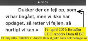 Large Danish law firm Lund Elmer Sandager by Partner Philip Baruch, helps the Danske Bank Jyske Bank and lies in legal matters, and hides the truth to disappoint in legal matters. It should be mentioned that Philip Baruch holds several positions in Jyske Bank as an example in the bank's board of directors