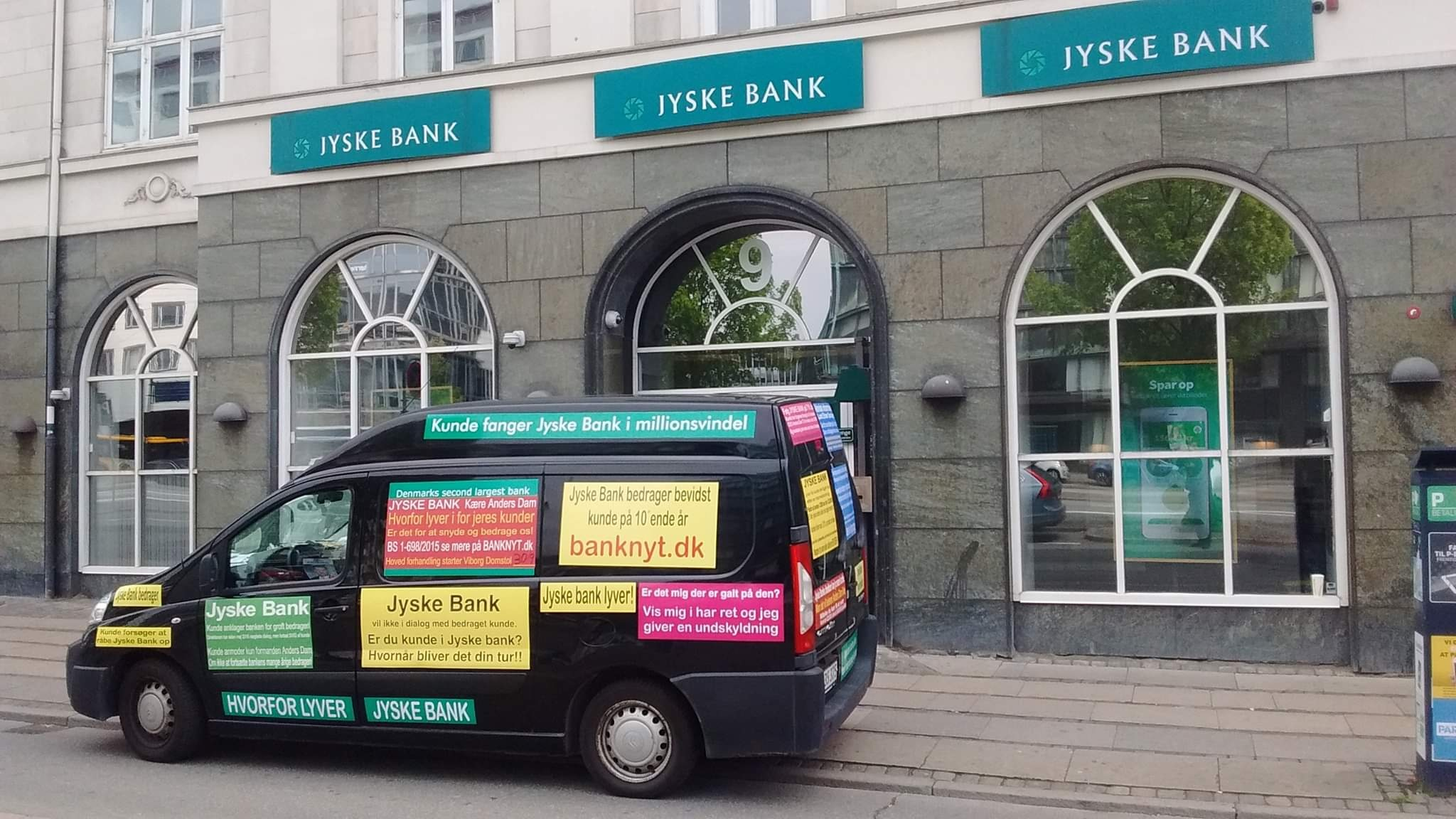 """A case as this, where a regular customer has been fighting against, the Danish bank Jyskebank, through many years, just to avoid the bank's constant fraud. After 10 years of fraud, and a fight since 2013, still unsuccessful. / However, the customer first discovered, that it was gross fraud in 2016, and after which the bank's lawyers In Lund Elmer Sandager, and the executive management CEO Anders Christian Dam was informed about the fraud. Expects the customer that the bank """"Jyske bank"""" itself, immediately stops the bank fraud against the customer. / But after 3 years, is the customer become more wise, and must be aware, that the Danish bank will not voluntarily, stop the scam. At least not voluntarily. :-) :-) Here is the fight, with a one single man against a whole army. :-) :-) Remember we have to do, with one of Denmark's most powerful financial companies."""