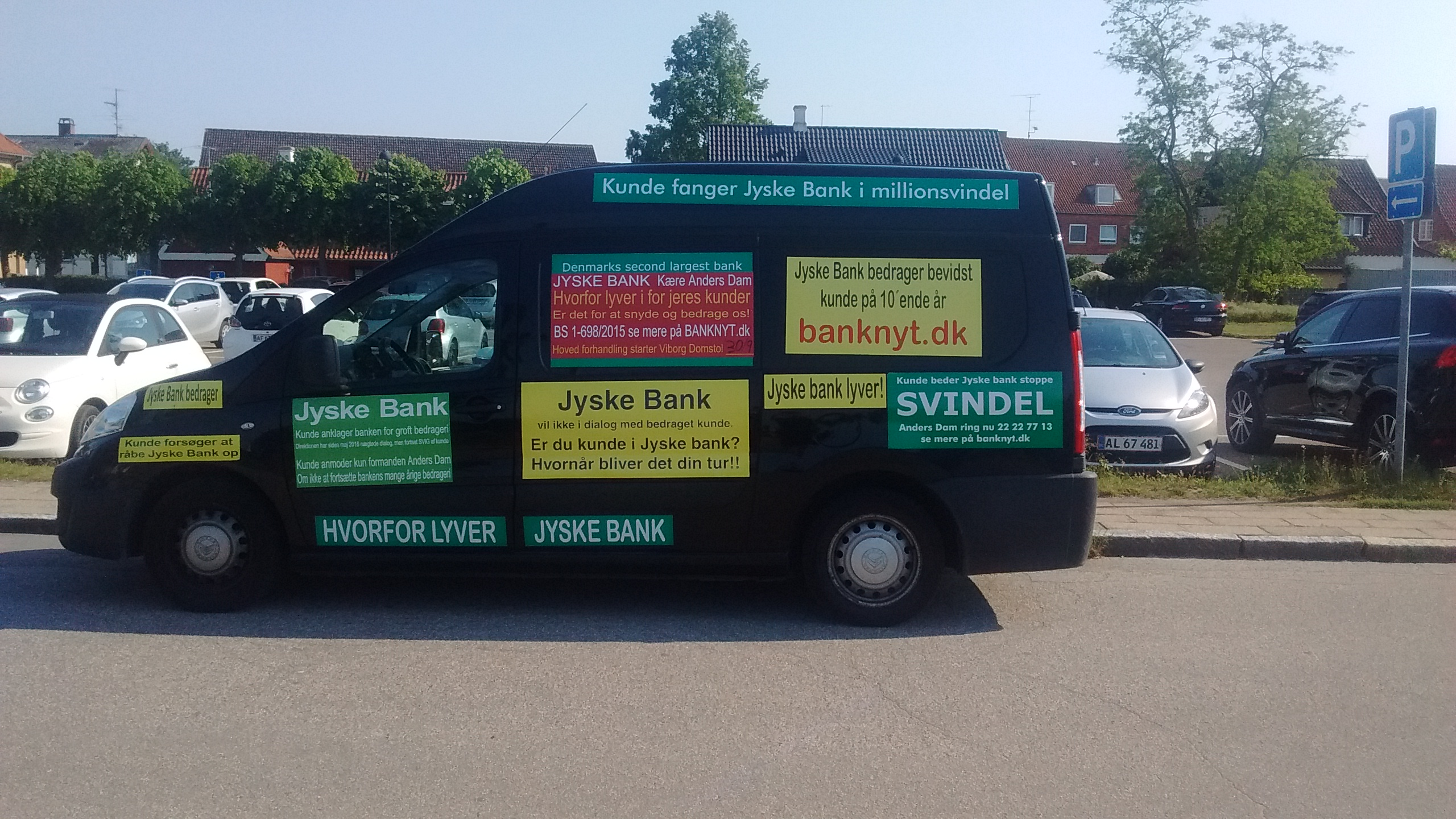 When Danish banks deceive their customers. The customer is usually the small one But make no mistake about the size. Customer gives the entire board a slap, in i cortroom 30/9-2019 BS 1-698/2015 / Jyske Bank Board Member Philip Baruch wrote May 31, 2016. That the bank, is informed that the customer has reported JYSKE BANK to the police, for, among other things, fraud And that the group management, took such notice with serenity Meanwhile, the members of the group management, continue to support whether Jyske Bank's continued fraud thus the customer continues to be exposed to the bank's million fraud to this day. A case that is being negotiated on September 30 and October 1, 2019 in the City Court of Viborg. Fra Twitter med link til banknyt dk @Finansmin @Justisdep @Statsmin #Justitsministeriet #Statsministeriet #Finansministeriet #Finanstilsynet #Finance #stokes #banks #dkpol #Banking #NSA #FBI #Denmark #JyskeBank #DanskeBank #Nordea #Rådgivning #Sparnord #Jysk #JyskeBankBoxen