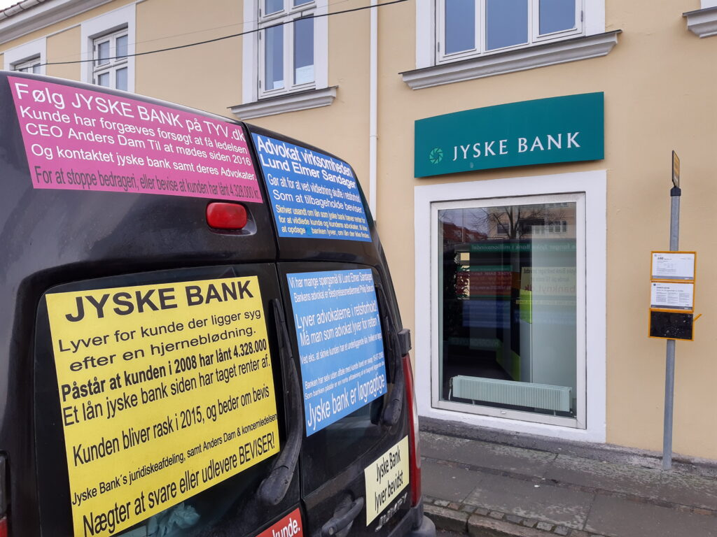 Bribery is not only a problem of Danish society. When a client hires Lundgrens Advokater, to file a case of fraud, executed against a Danish bank customer in Jyske Bank. And the client clearly and clearly tells Lundgren's attorneys that the fraud crime was committed by Jyske Bank, and this is done with the Group management's knowledge, and certainly contributes to the client in the case BS-402/2015-VIB When the customer saw over 1 year. after Lundgren's lawyer b occurred and shortly after the lawyers had been hired to file a fraud case against Jyske Bank. Discover that even the same Lundgren's lawyer company, has been employed by the Jyske Bank Group, in a trade for DKK 600 million. And the client also discovers that Lundgren's lawyers have countered that some of their client's claims were brought to court. When Lundgrens directly against the client's instructions, does not present any of the client's claims against Jyske Bank, which the client has many times given Lundgrens Advokater clear instructions to submit. What do you call it if Jyske Bank did not pay Lundgren's Return commission by giving Lundgren's lawyer partner company a million orders. Should Lundgren's Attorneys not be reported to the lawyer mentioned, as a total lawyer's house, since Lundgren's partner has all taken oaths. paragraph 10.4 of Lundgren's set of rules. When it comes to violation of good attorney practice, and possible receipt of return commission in the form of million work for Jyske Bank, neither Lundgrens nor Jyske Bank's Executive Board should hide the truth when the client only seeks the truth about Jyske Bank's real foundation.